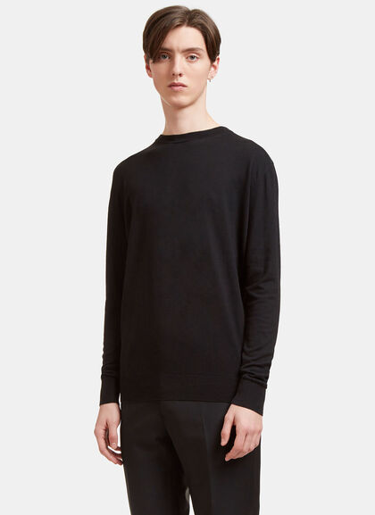 Buy AIEZEN Cashmere and Silk Knit T-shirt by Aiezen men clothes online