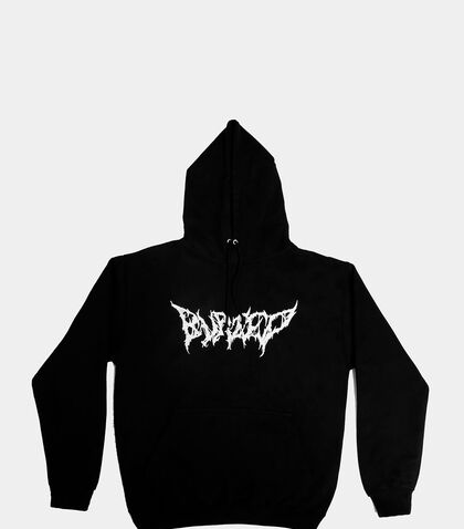 lncc buried zine hooded sweater