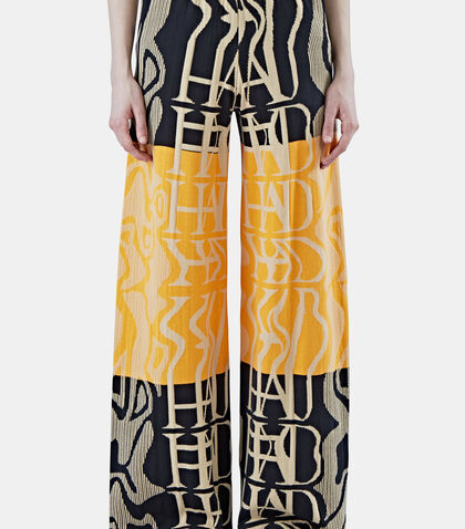 Tribai Wide Leg Knit Pants by House Of Had