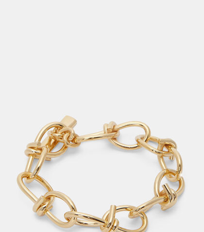 Barbed Wire Link Bracelet by Lauren Klassen