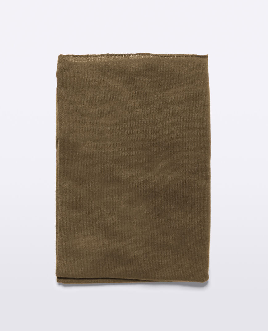 Aspesi Cashmere Scarf In Military-coloured