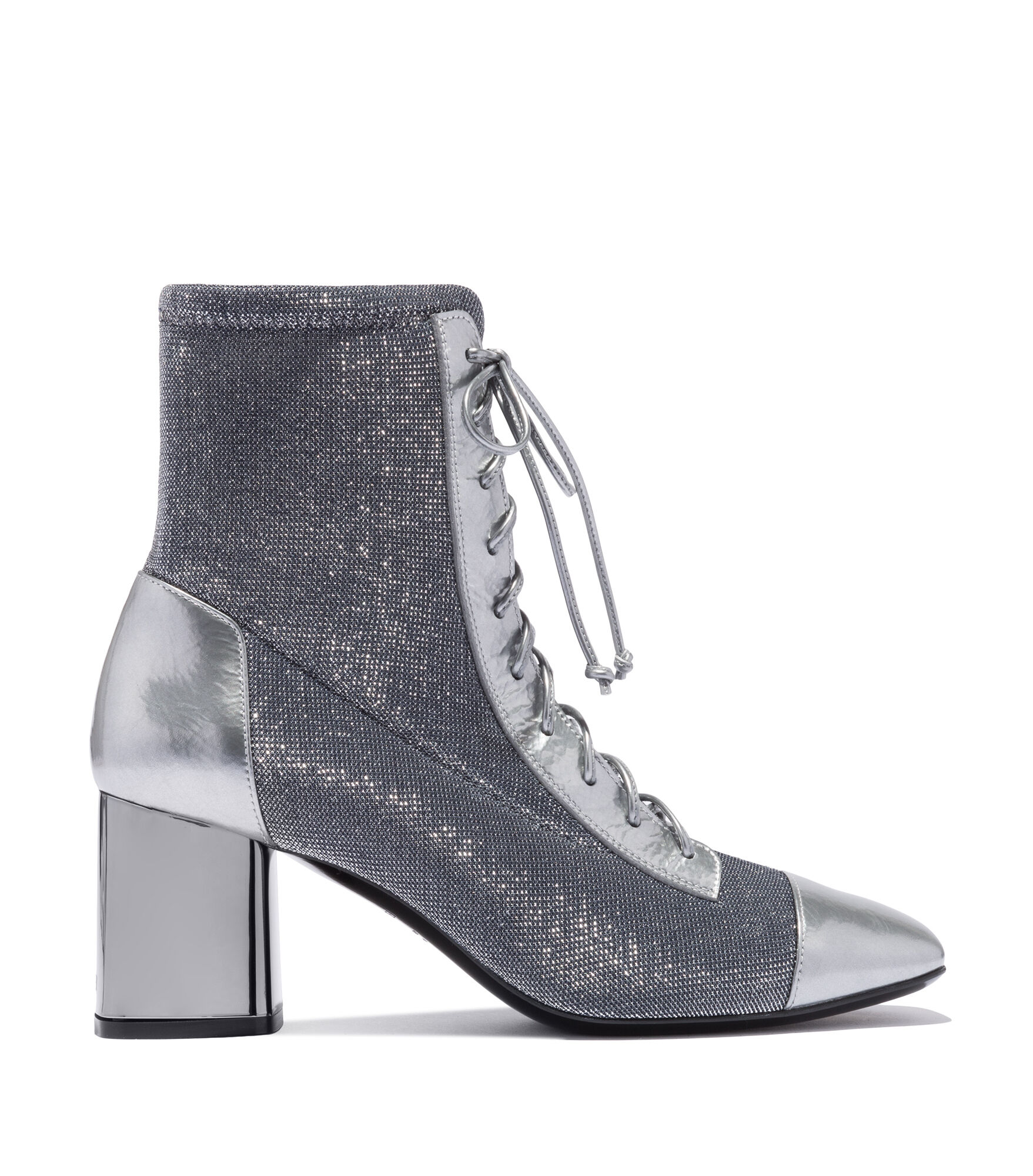 Casadei Ankle Boots - Neowall Zinc Jersey