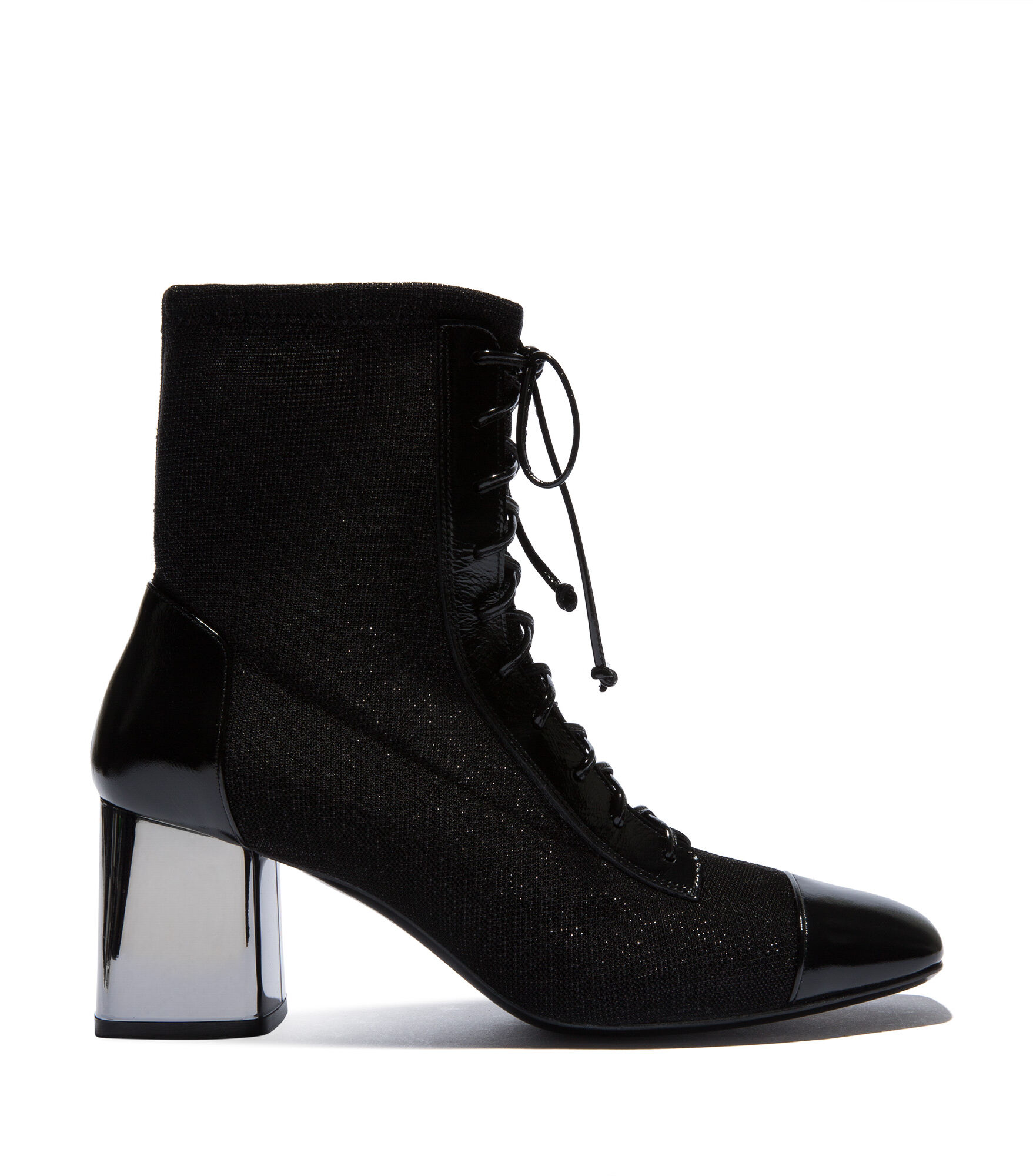 Casadei Ankle Boots - Neowall Black Jersey
