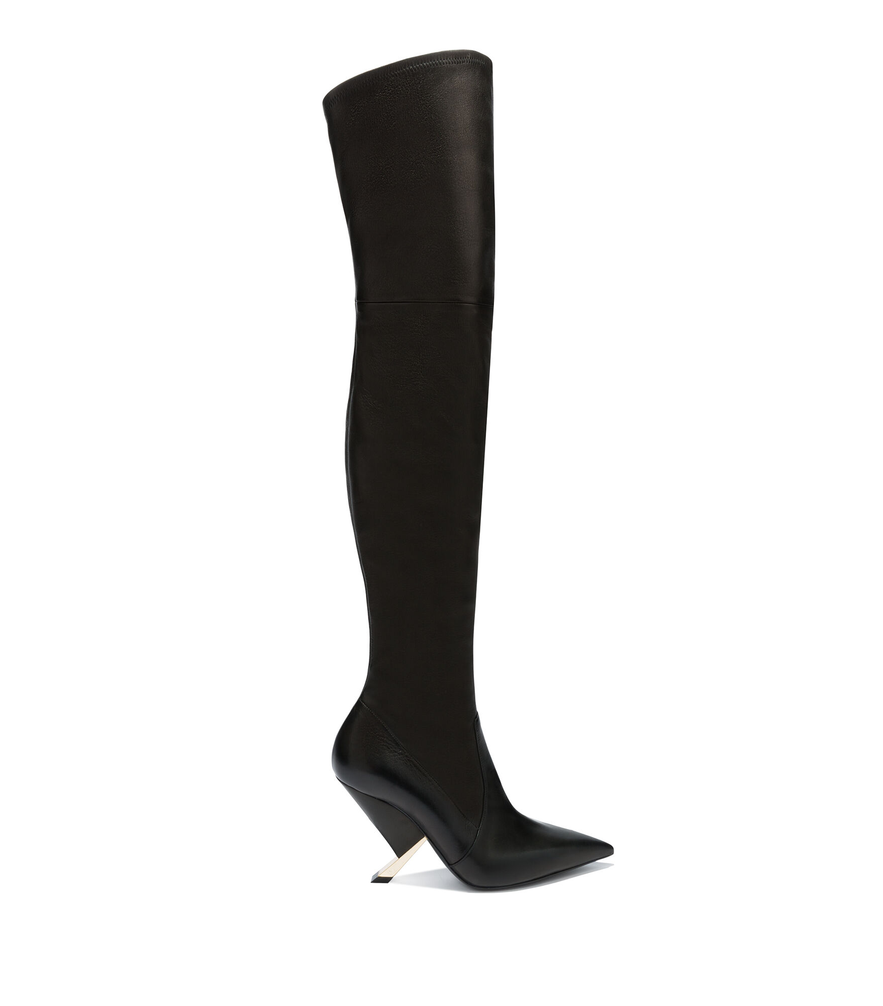 Casadei High Boots - X Blade Black Nappa Leather