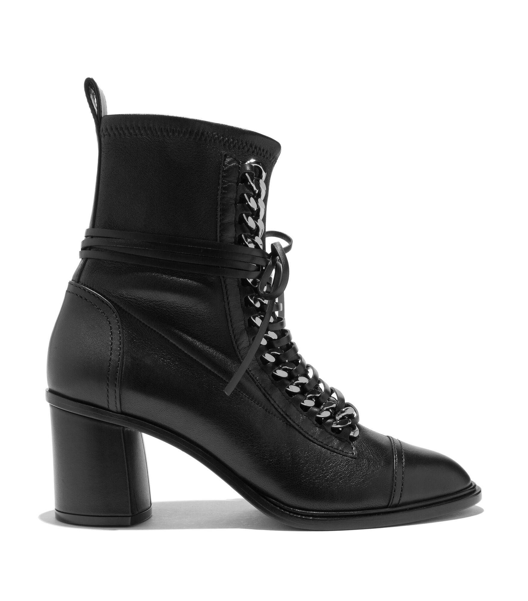 Casadei Ankle Boots - Perfecto Black Calf Leather