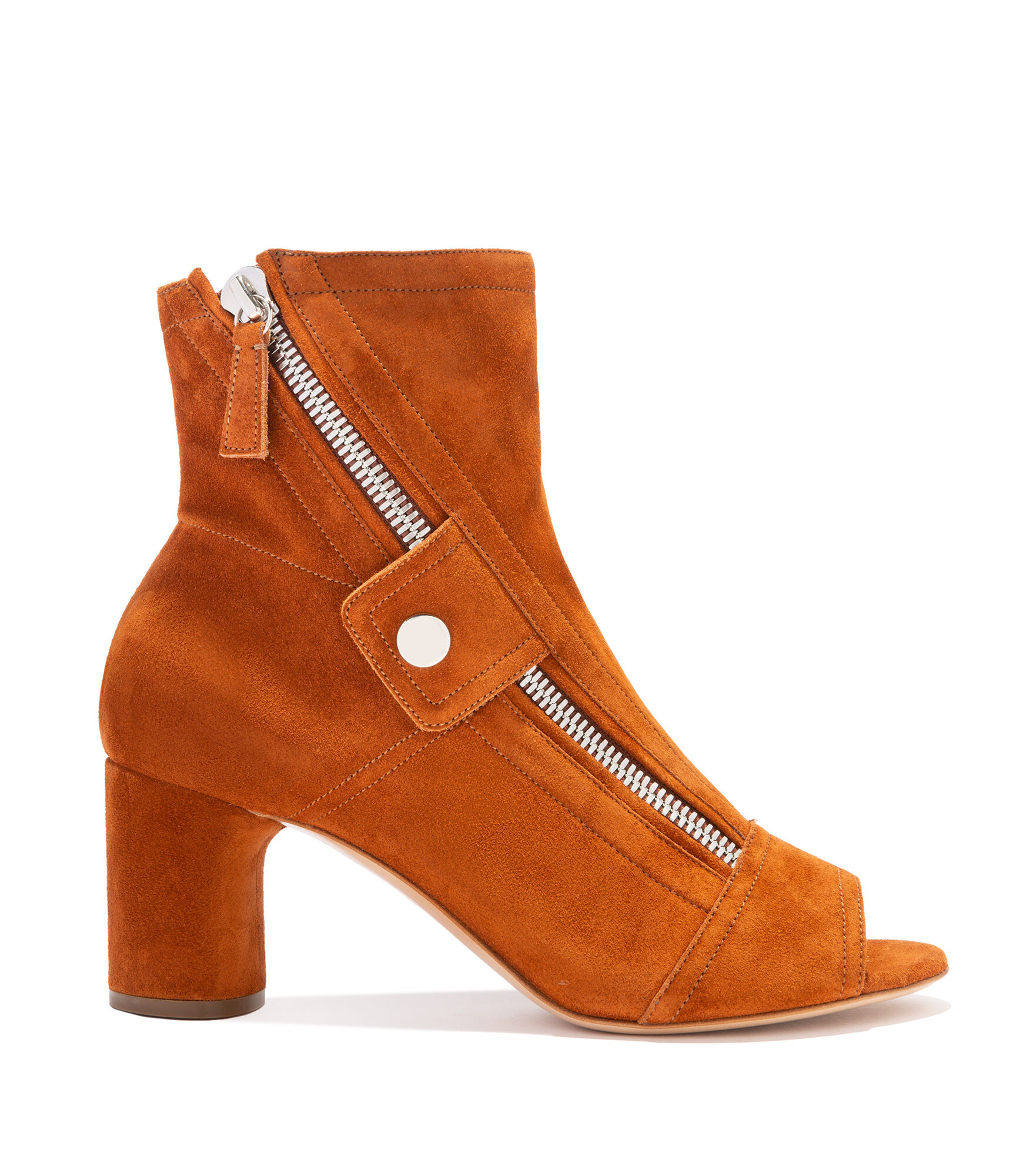 Casadei Ankle Boots - Selena Russet Suede