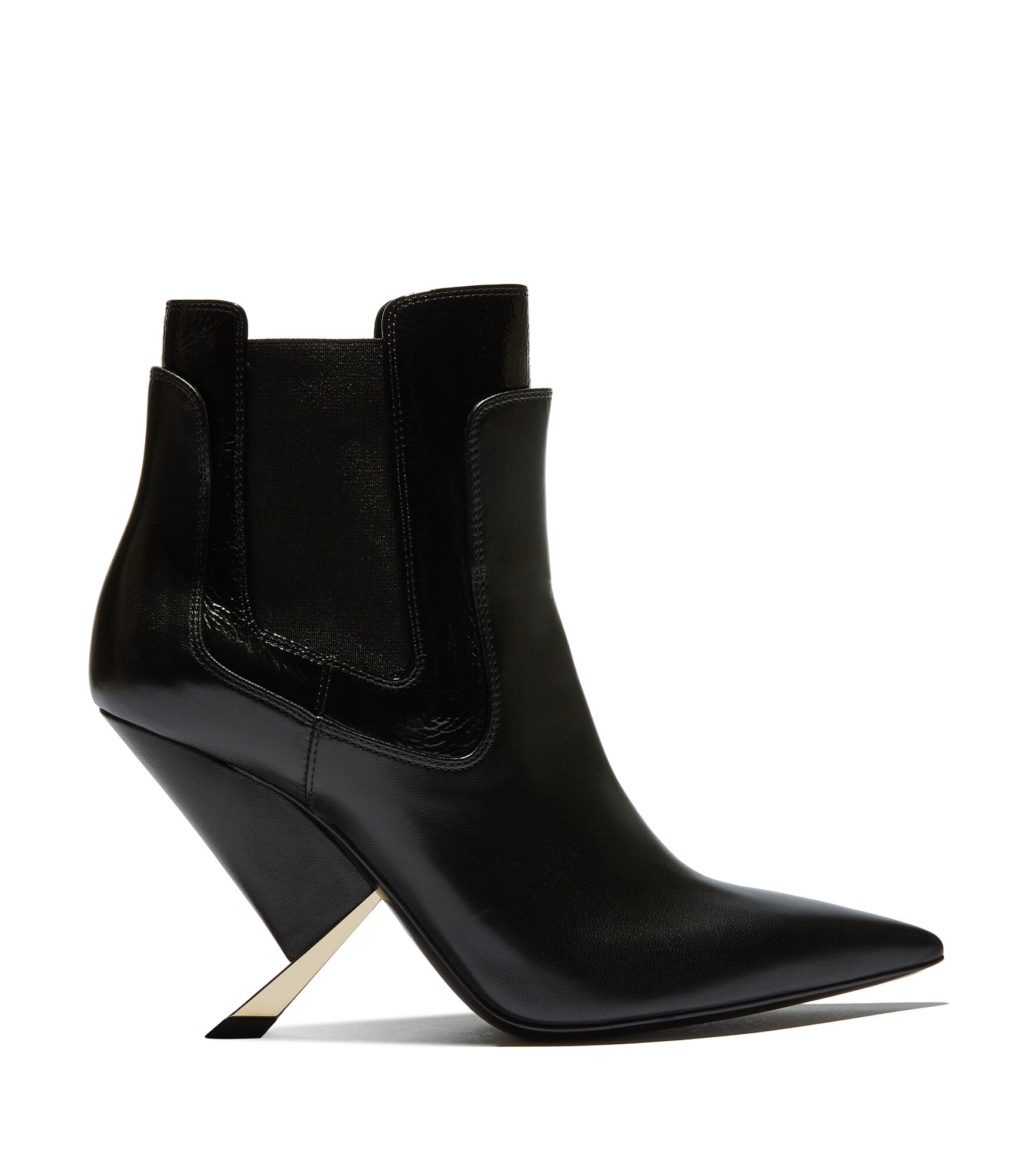 Casadei Ankle Boots - X Blade Black Nappa leather and naplak