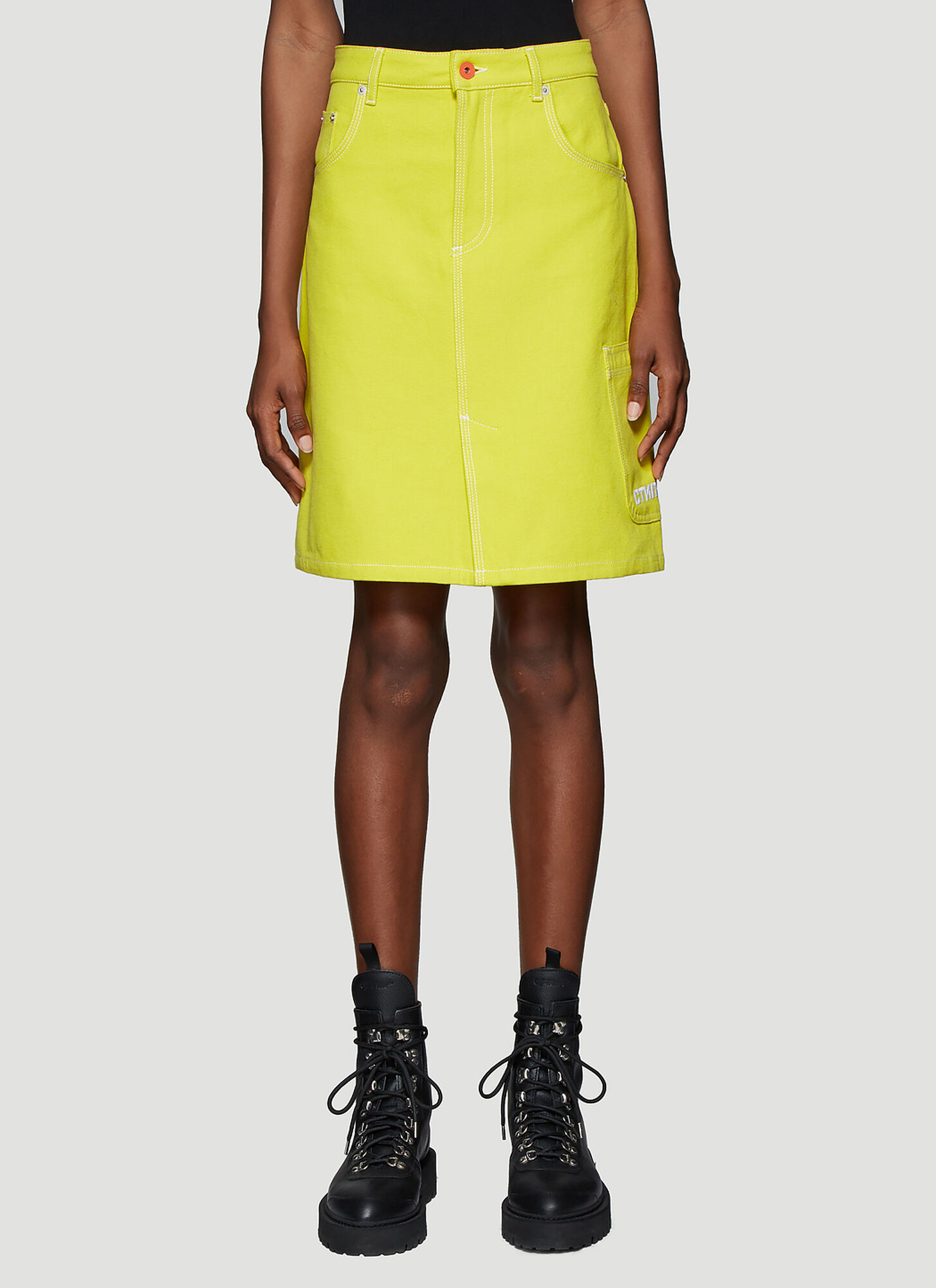Heron Preston ????? Skirt in Yellow