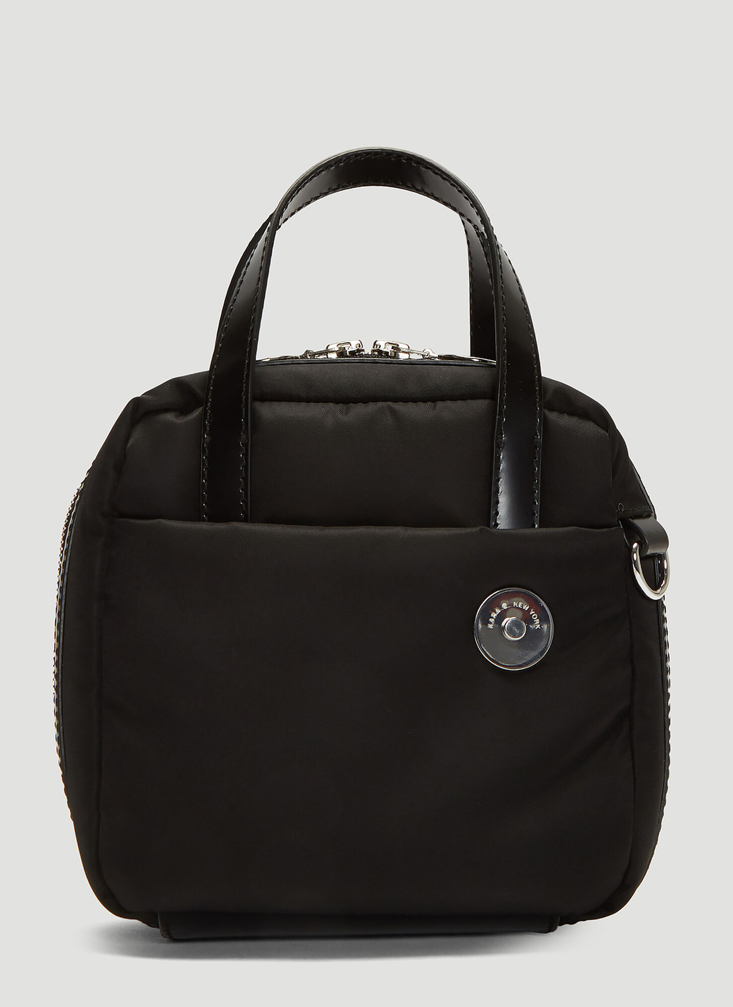 Kara Brick Bag in Black
