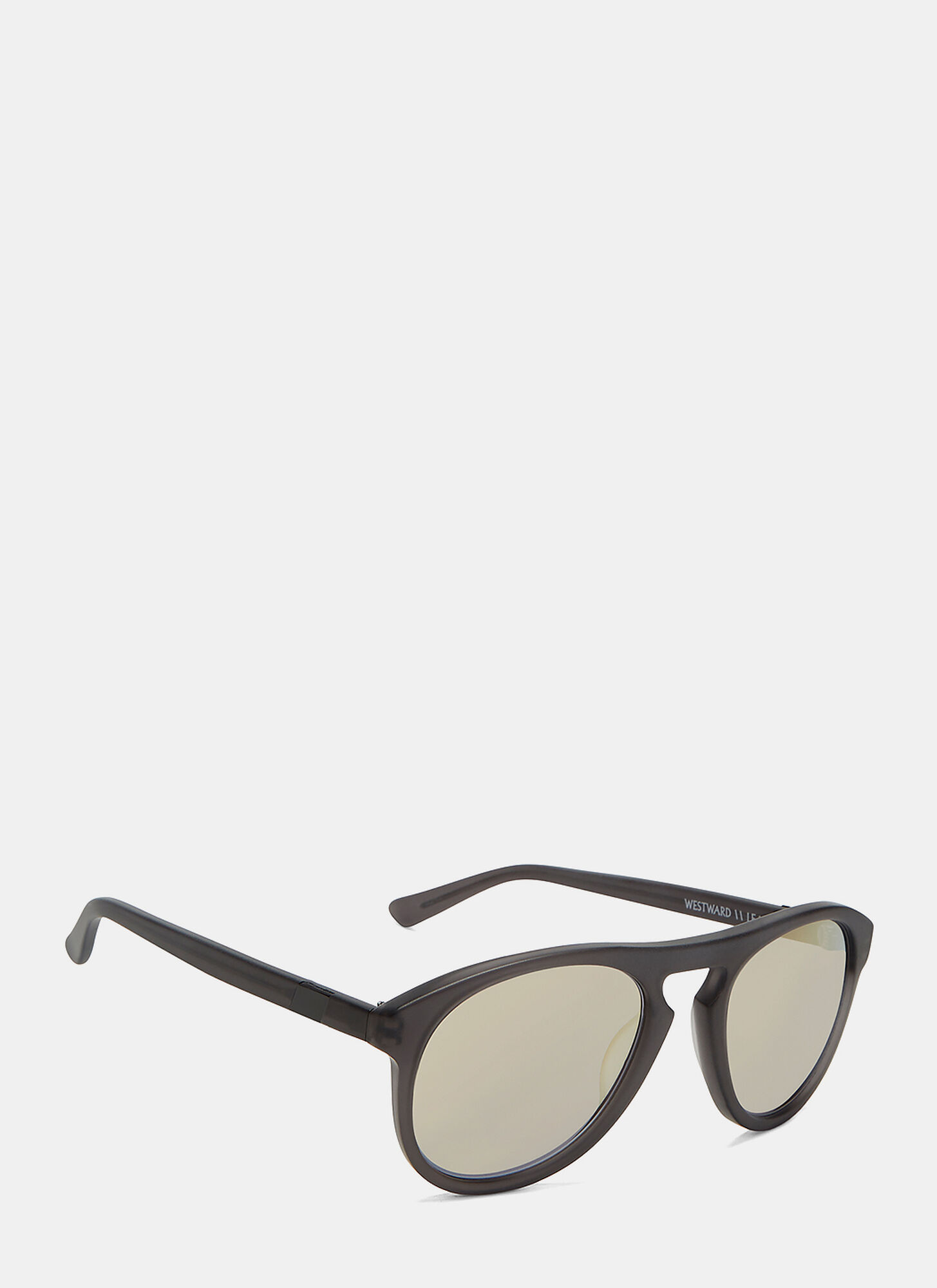 Westward Leaning Women's Galileo 3 Reflective Sunglasses in Matte Grey
