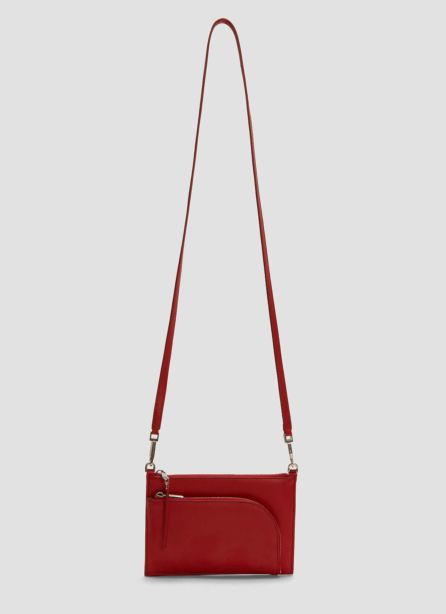 Rick Owens Club Pouch in Red