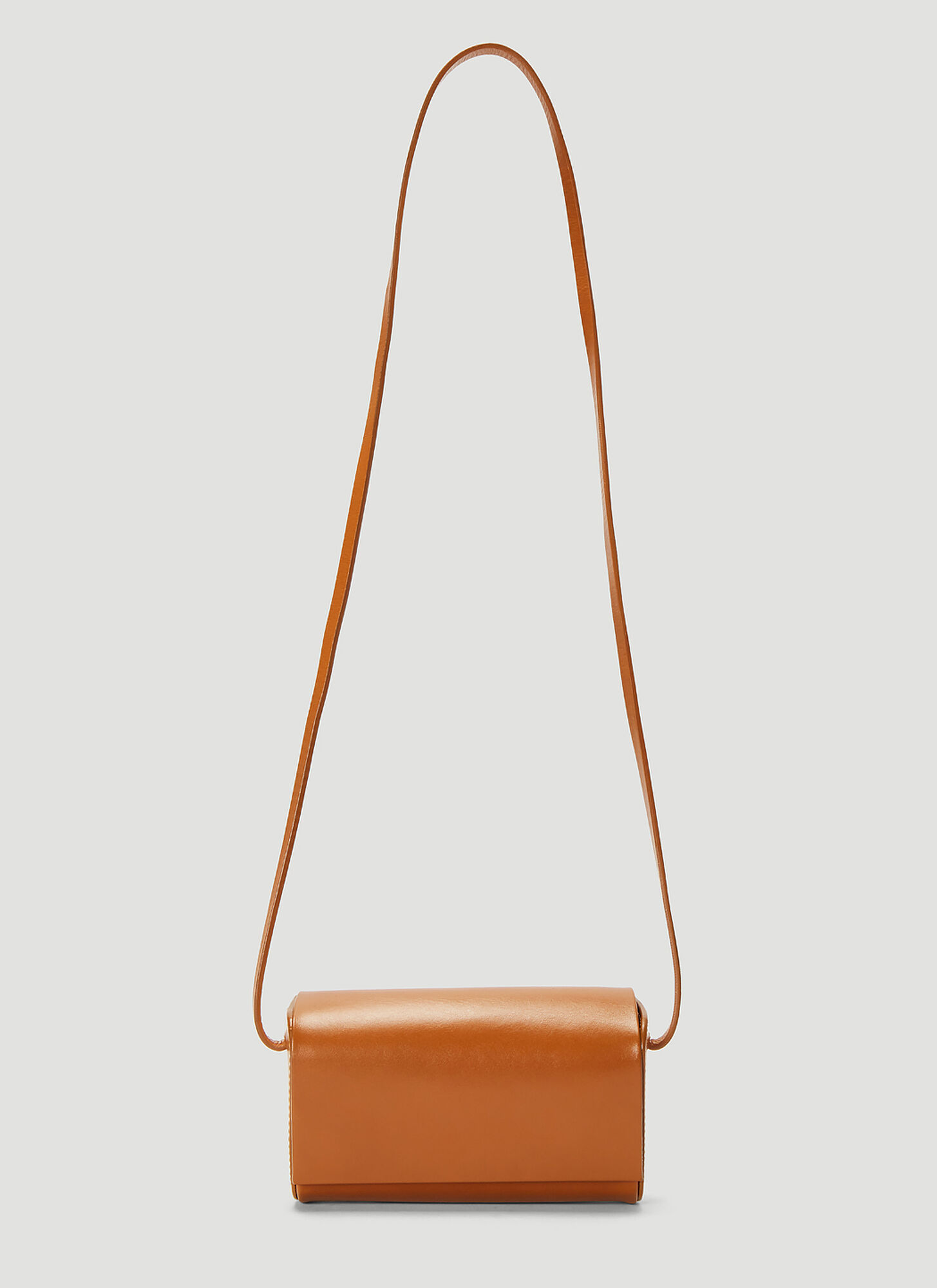 Building Block Petite Bag in Brown