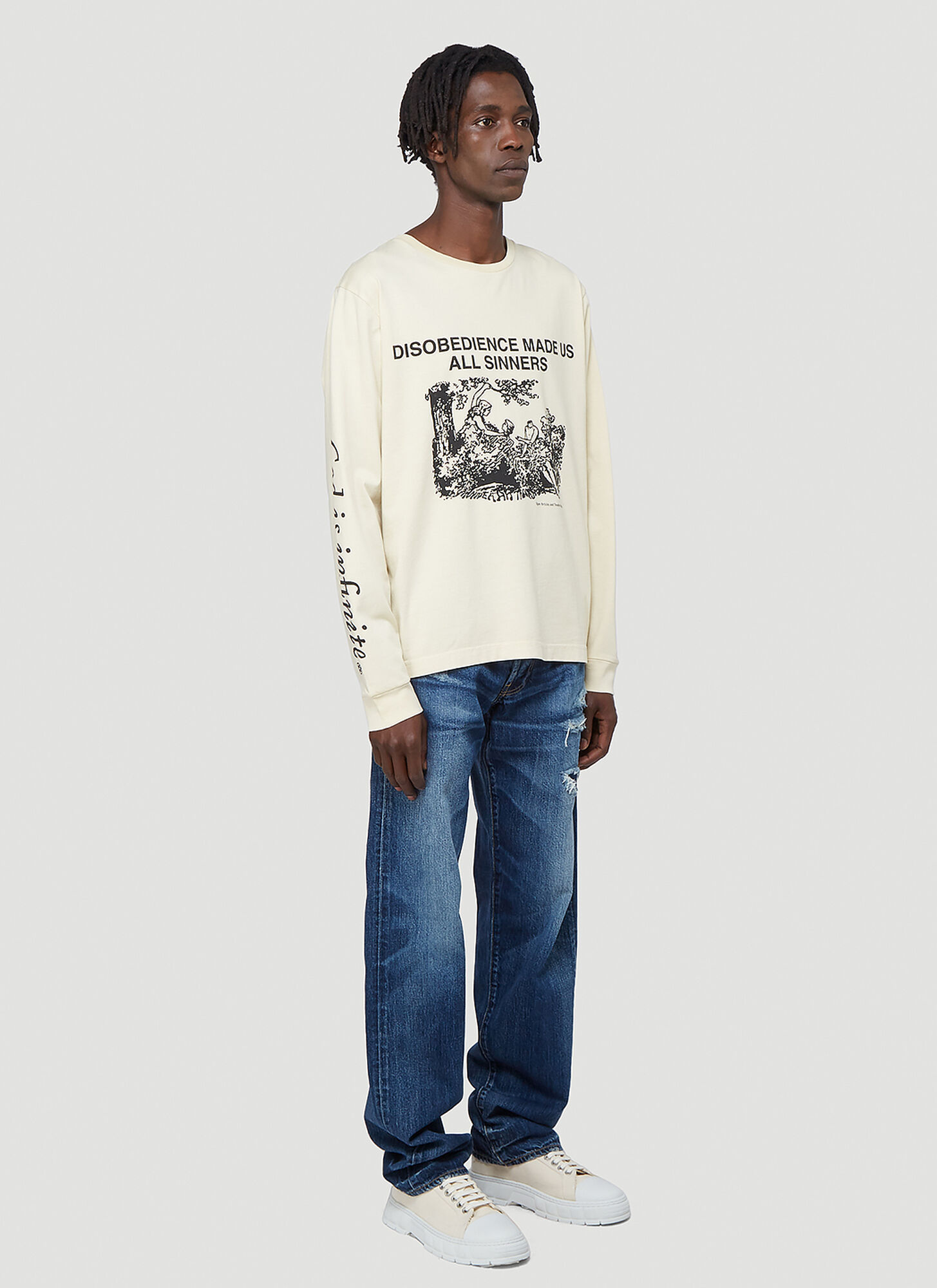 Vyner Articles Puddle Leg Jeans