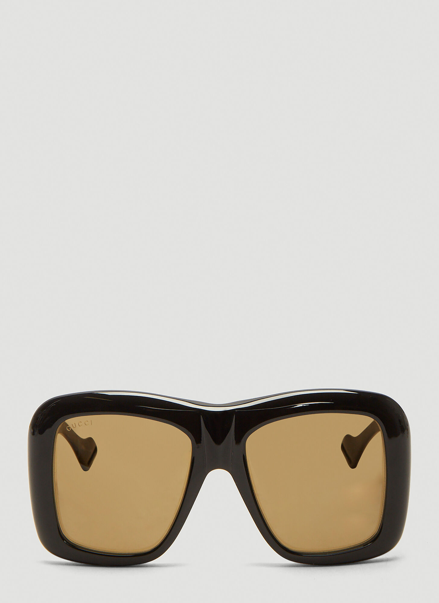 Gucci Oversized Square Frame Sunglasses in Black