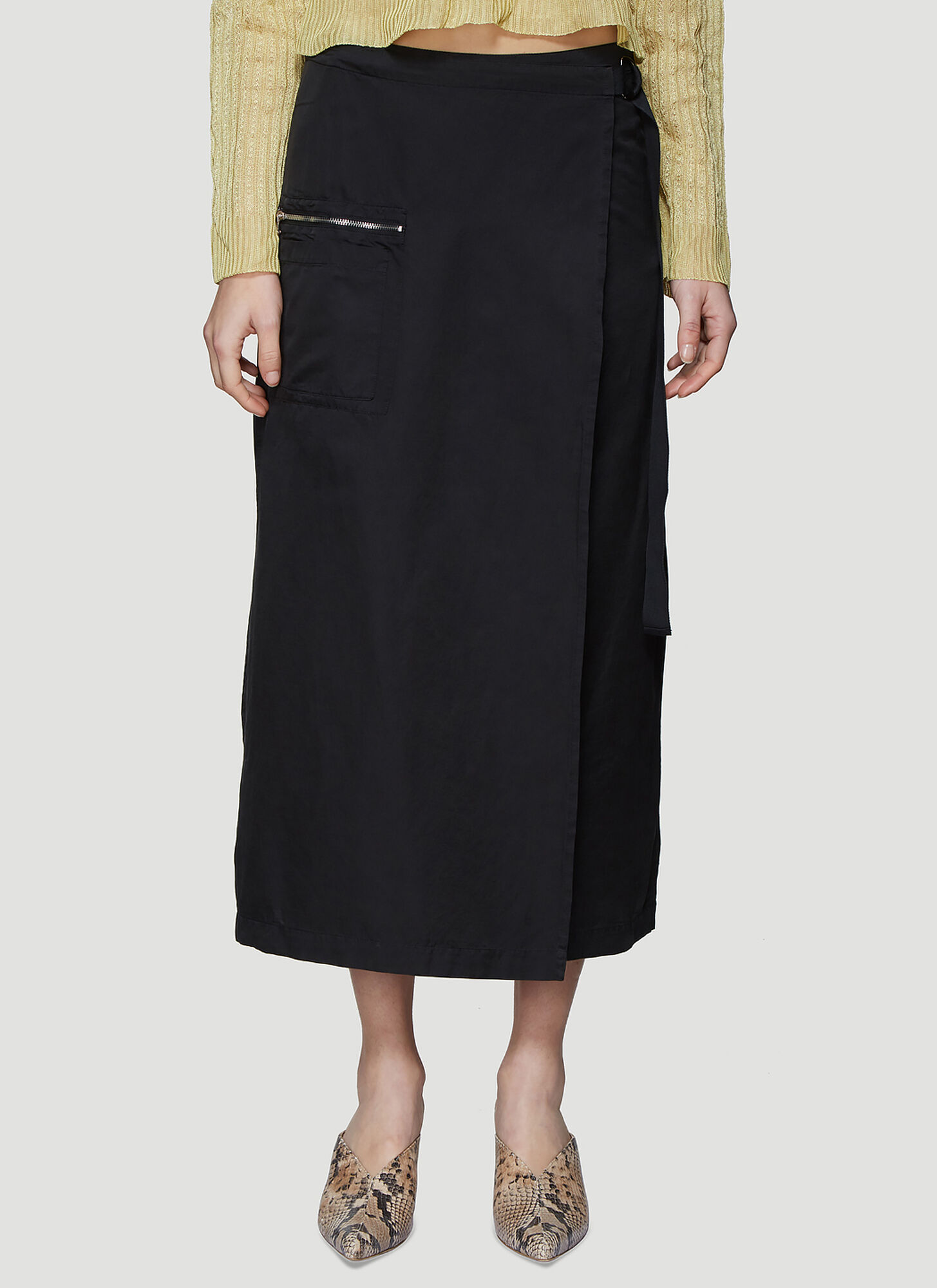 Our Legacy Apron Skirt in Black