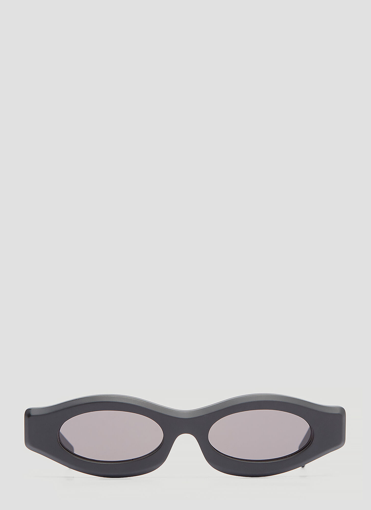 Kuboraum Maske Y3 Slim Matt Sunglasses in Black