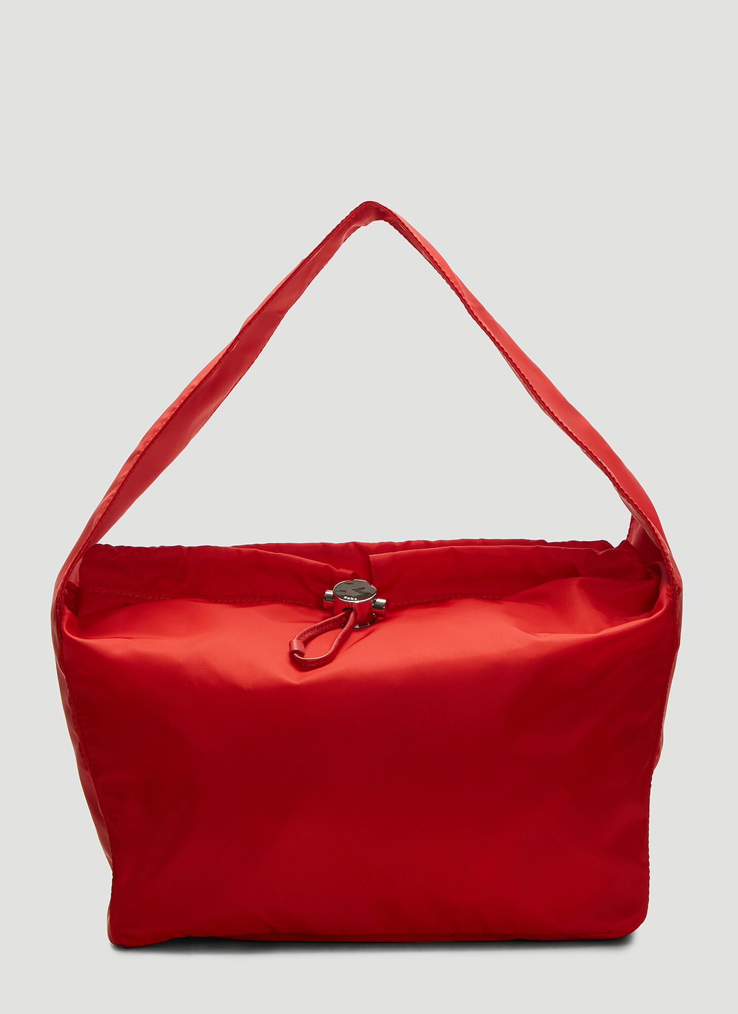 Kara Medium Cloud Bag in Red