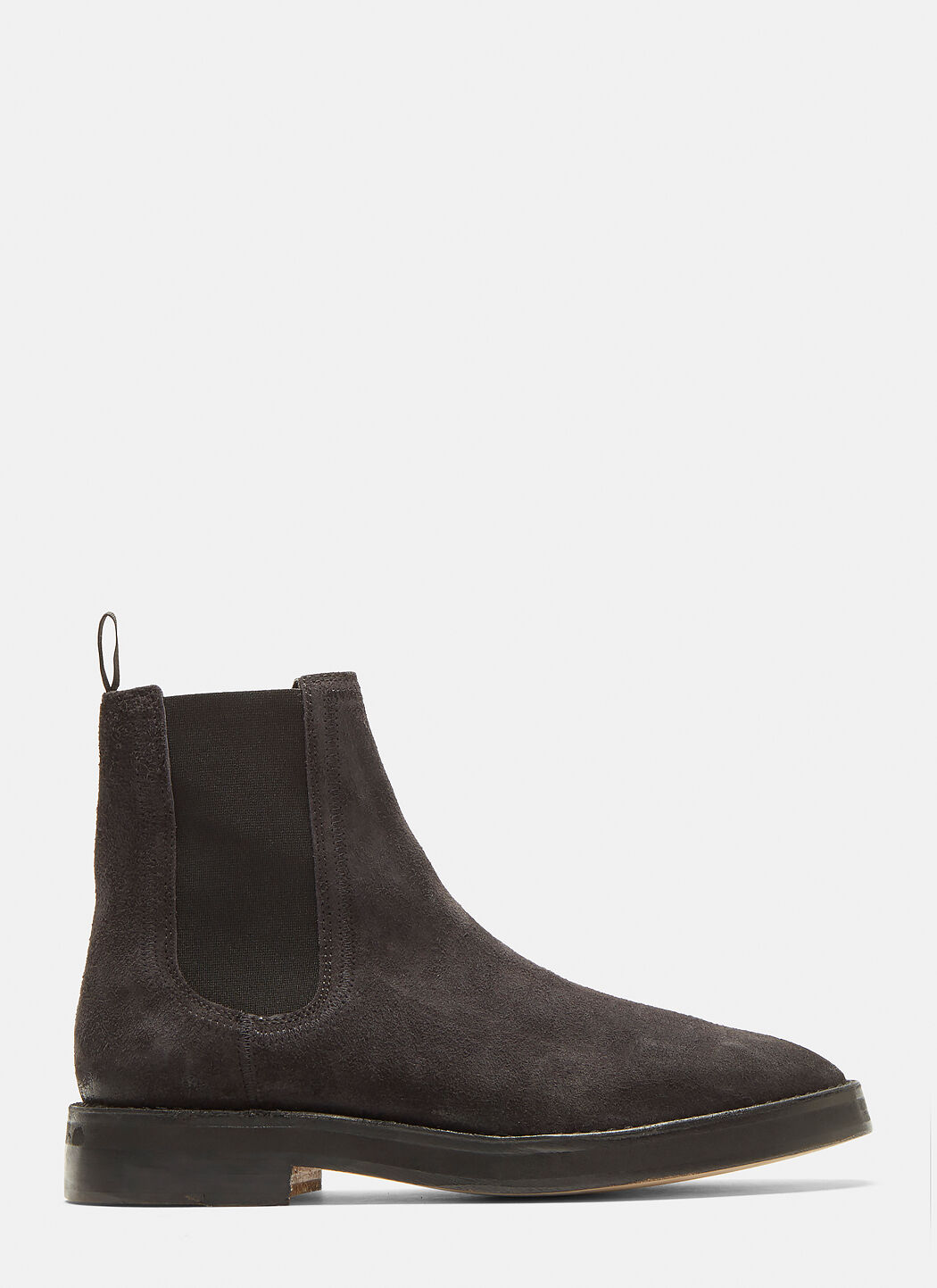 88d03671a YEEZY SHAGGY SUEDE CHELSEA BOOTS IN GREY