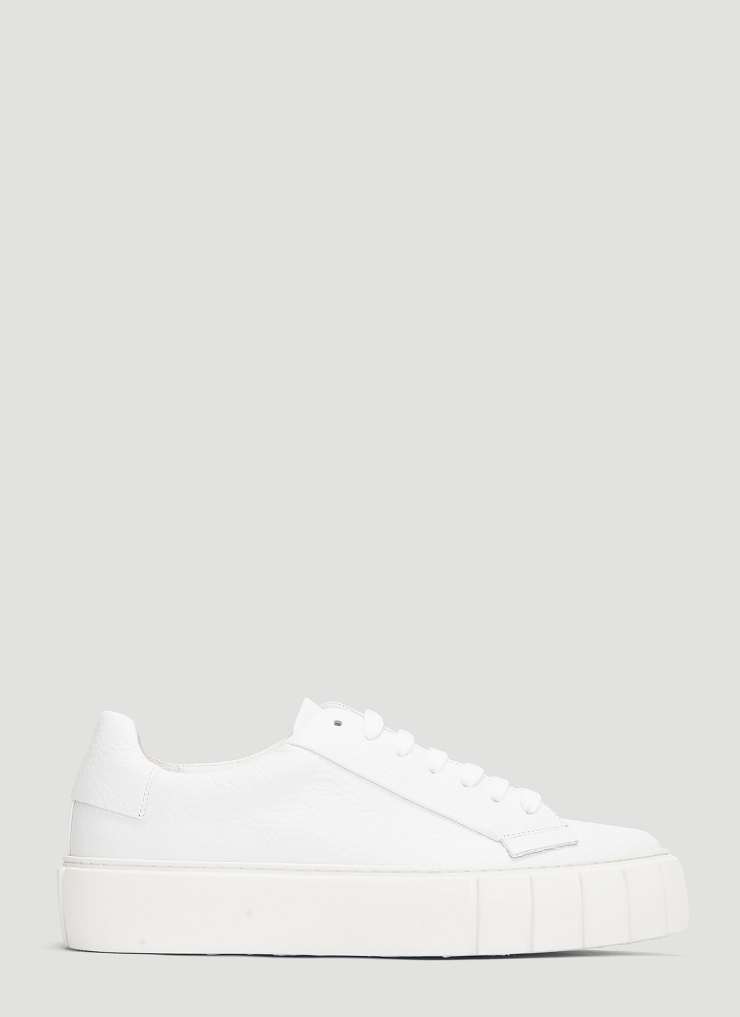 Primury DYO Leather Sneakers in White