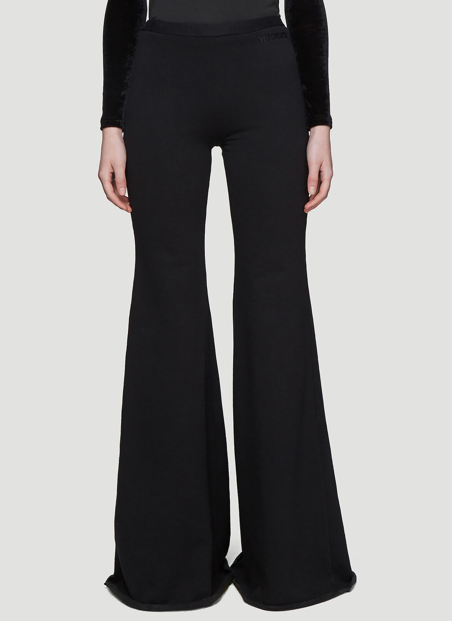 Vetements Evening Jogging Pants in Black
