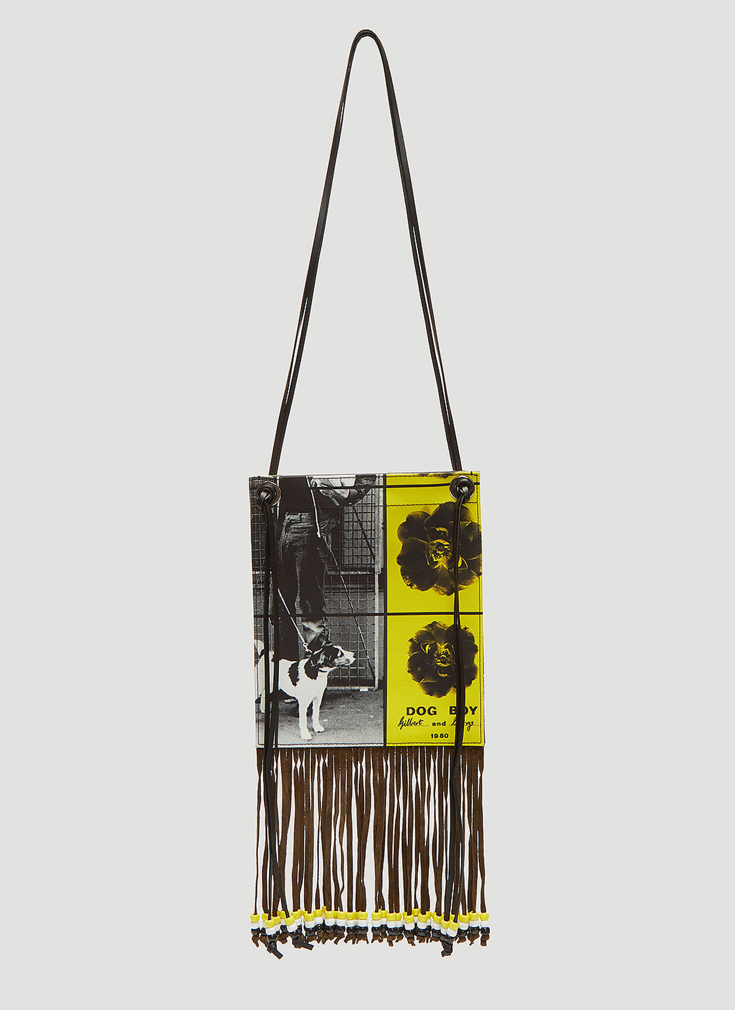JW Anderson X Gilbert & George Neck Pouch in Black
