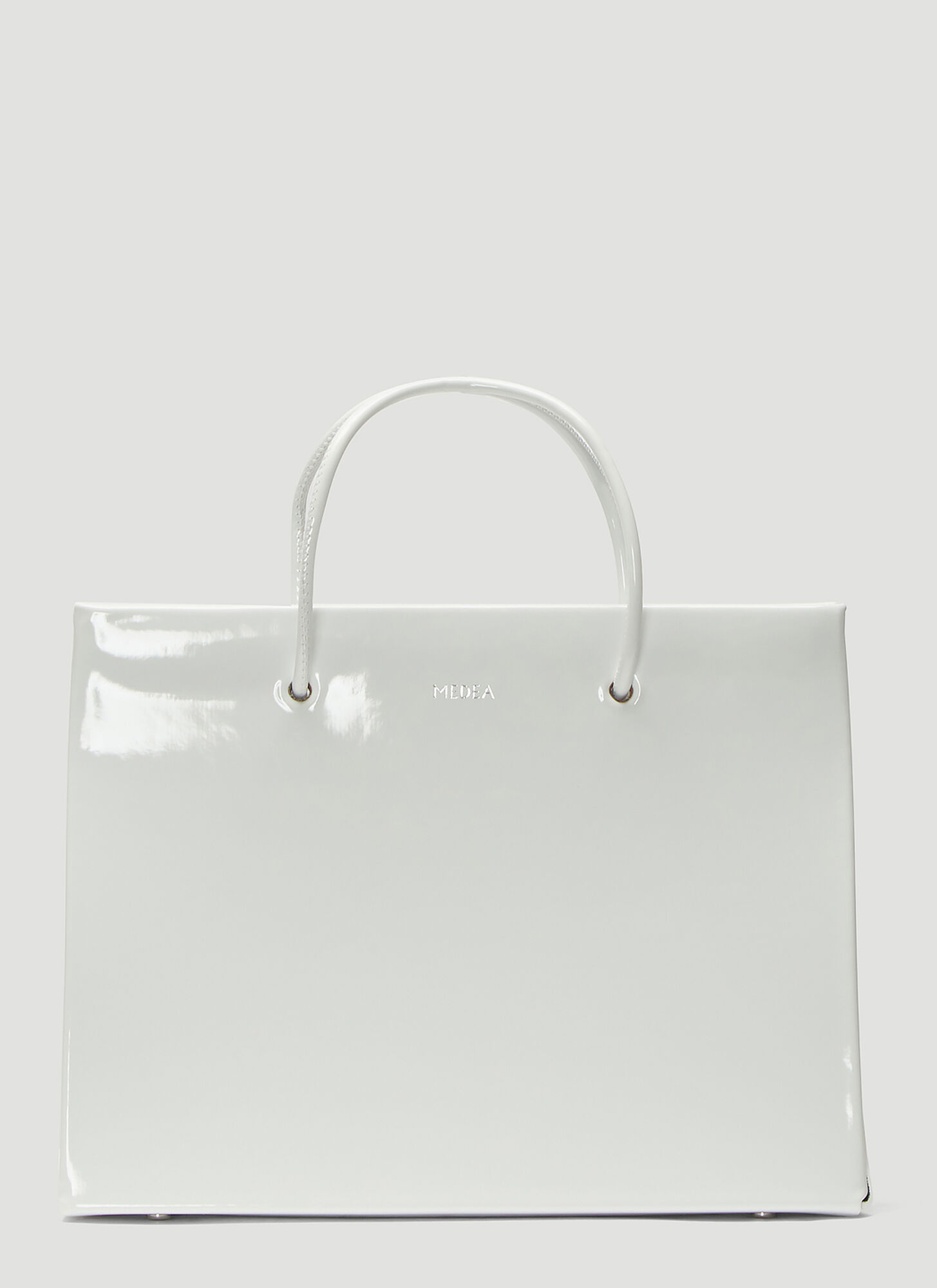 Medea Hanna Vinile Bag in White