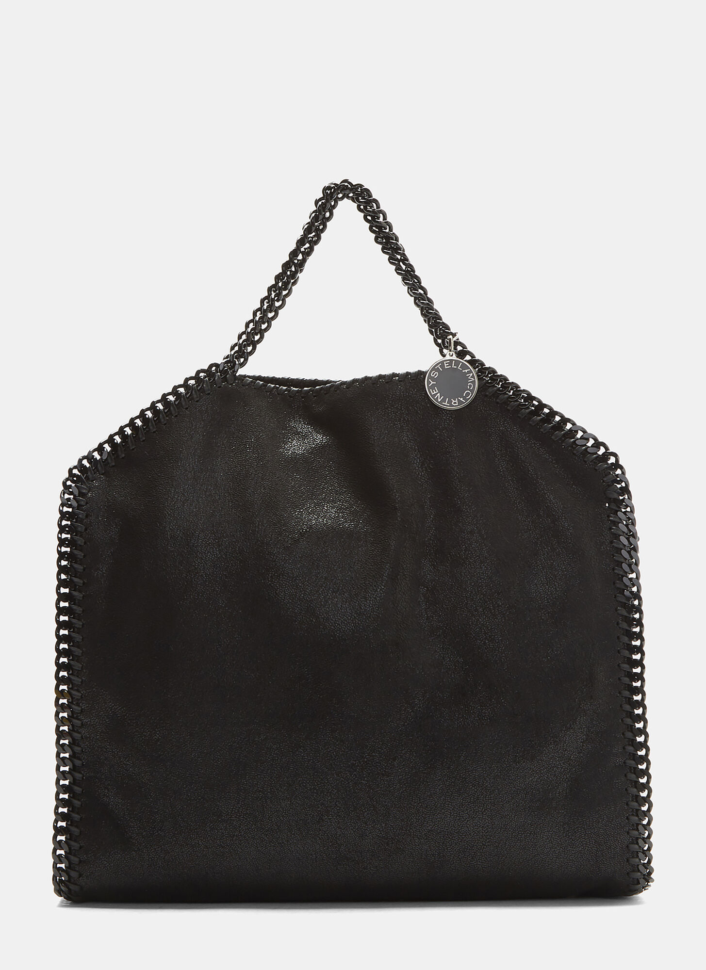 Stella McCartney Small Falabella Chain Tote Bag in Black