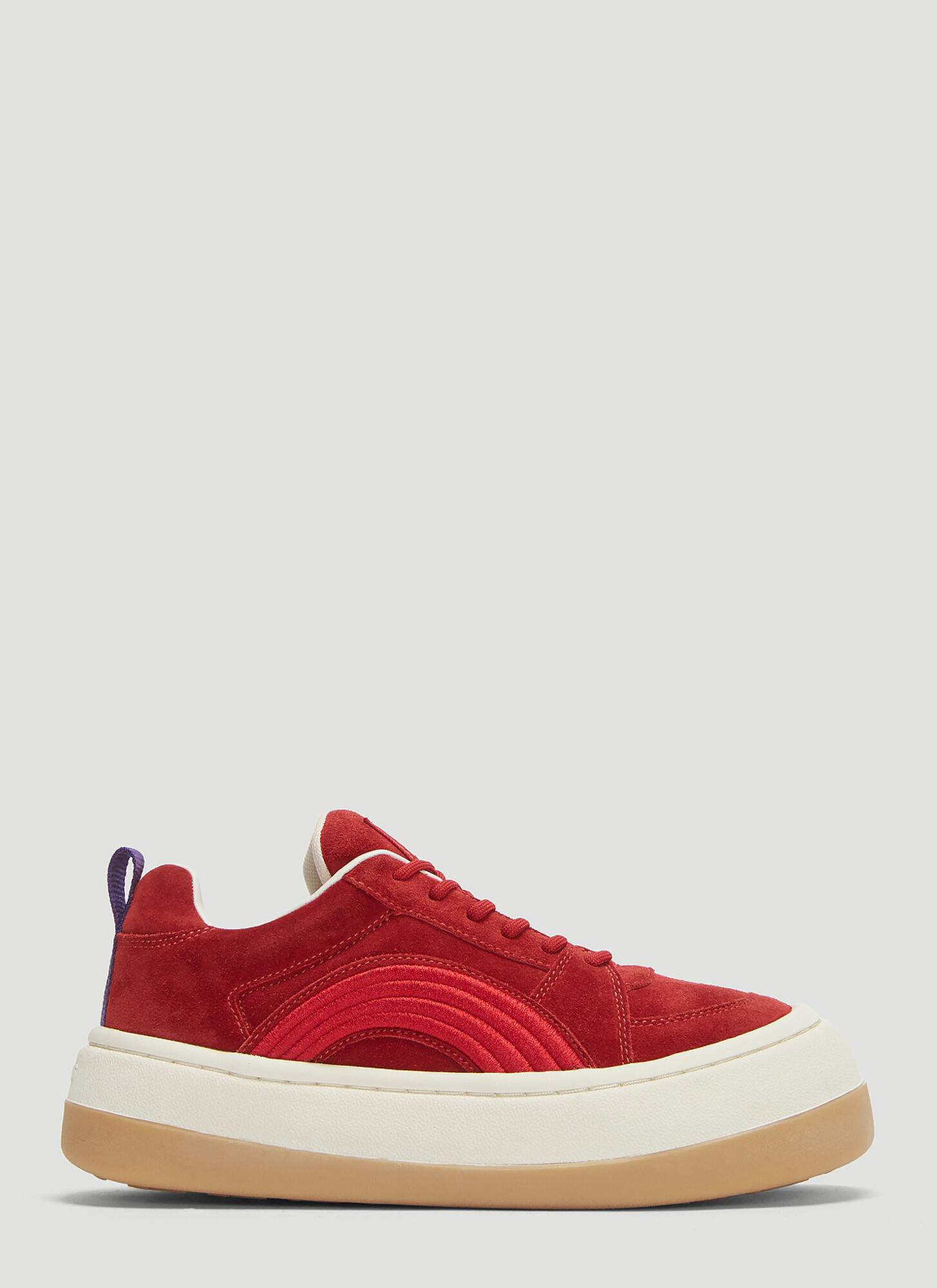 Eytys Sonic Sneakers in Red