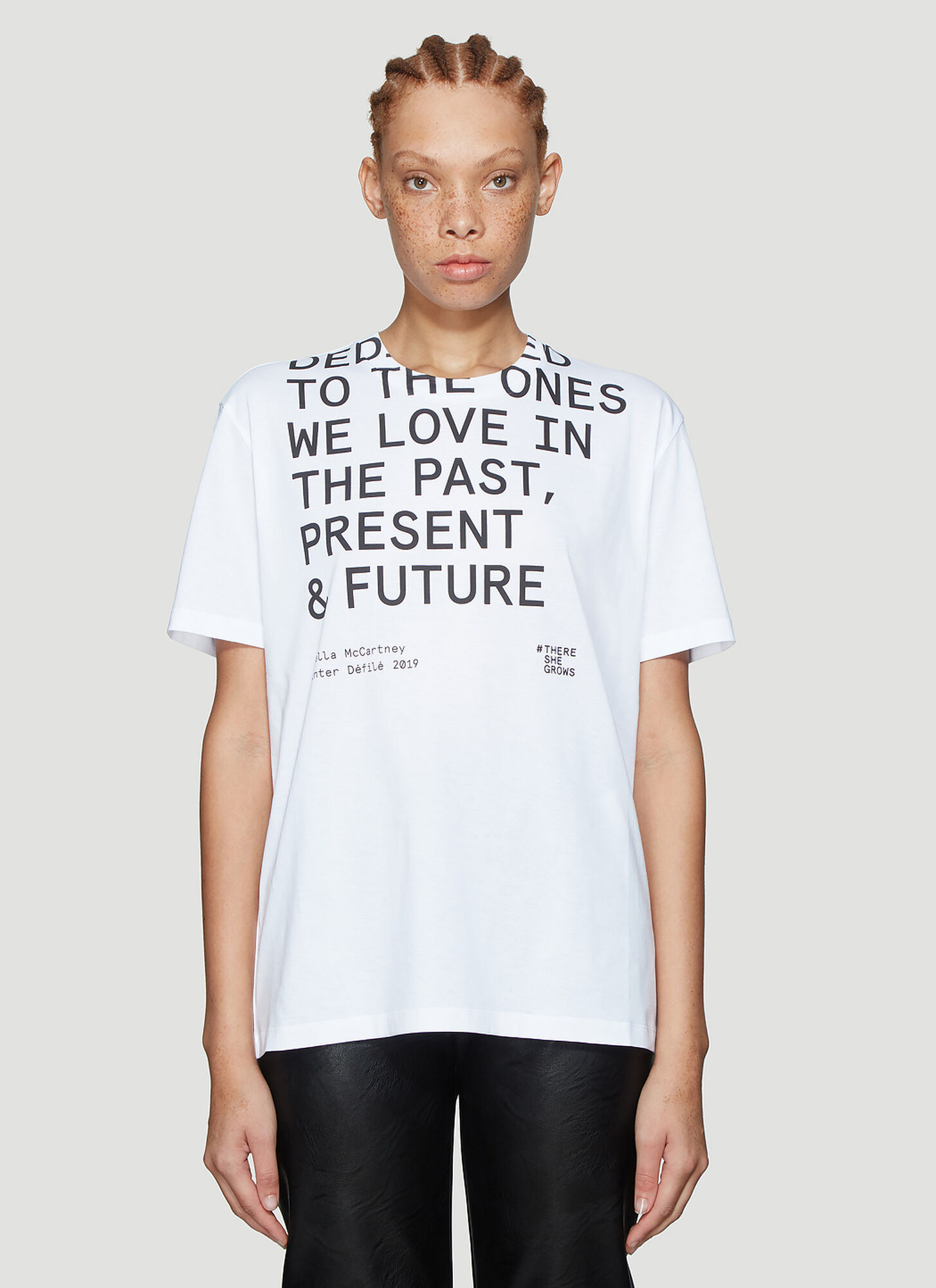 Stella Mccartney There She Grows T-Shirt in White