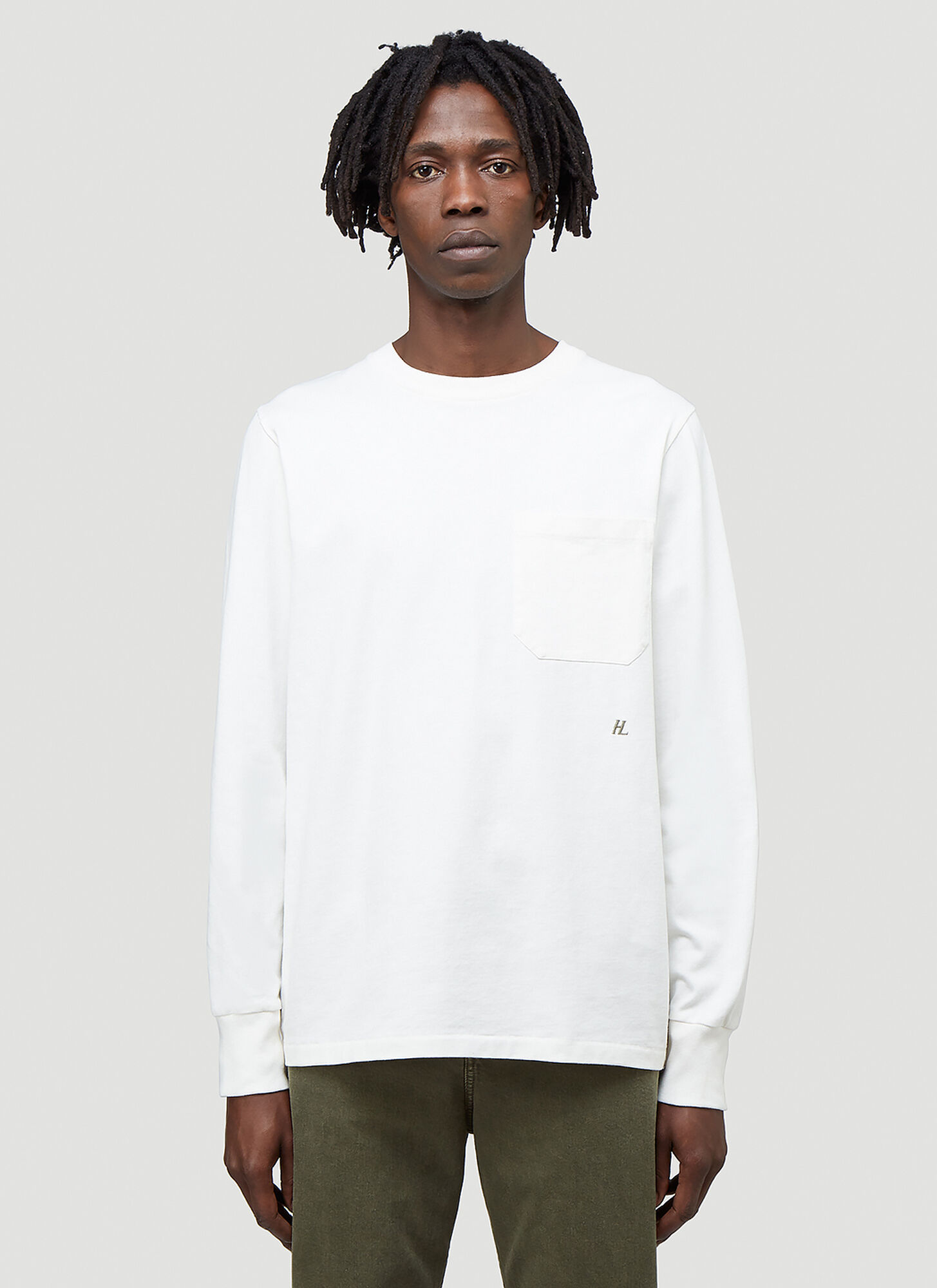 Helmut Lang Strap Long-Sleeved T-Shirt