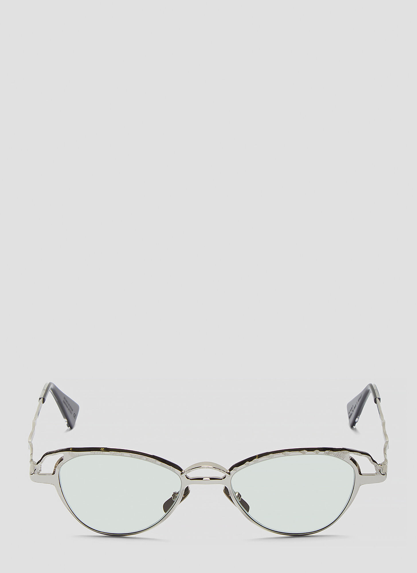 Kuboraum Mask Z16 Sunglasses in Silver