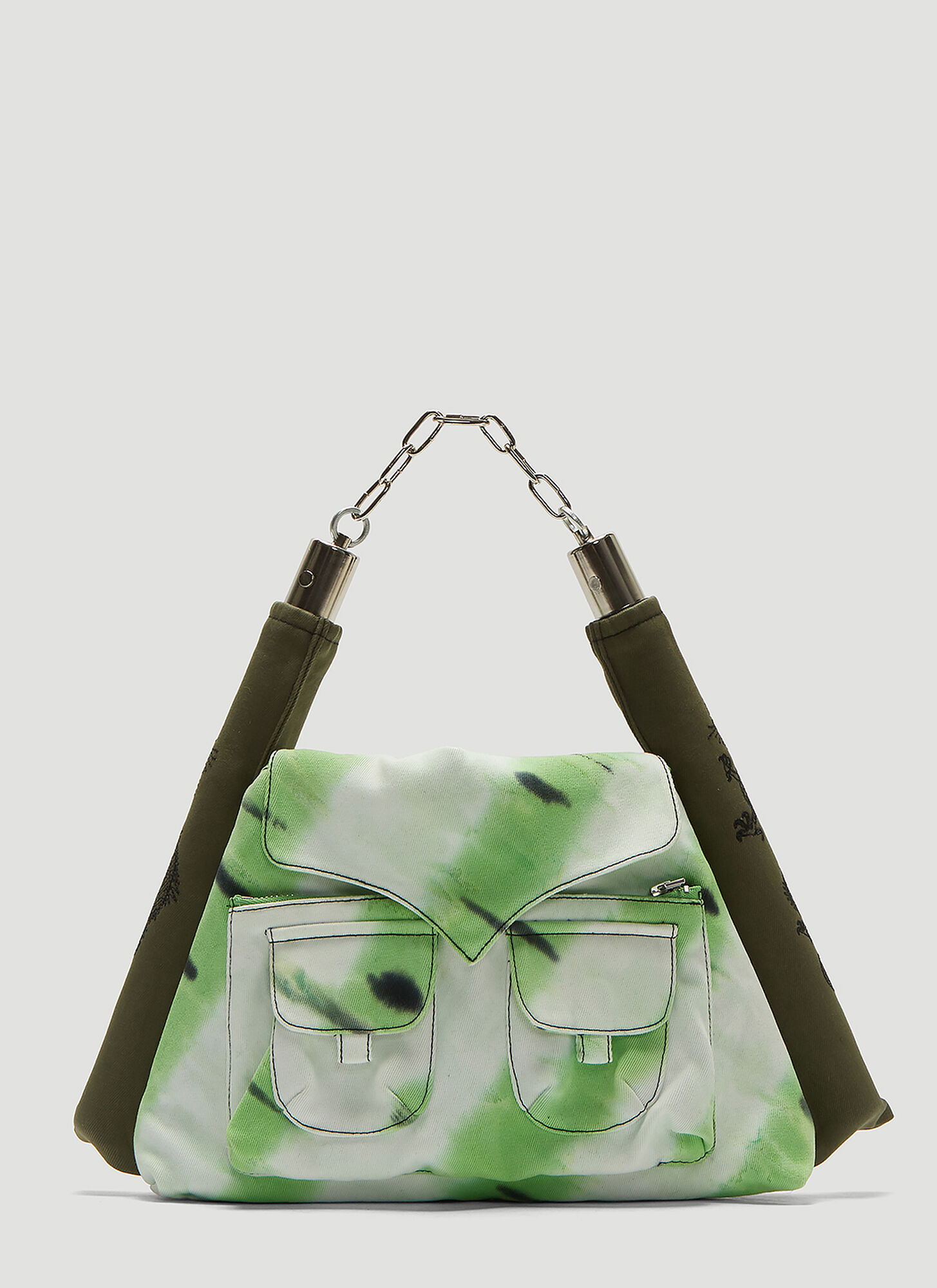 ASAI Tie-Dye Nunchuck Bag in Green