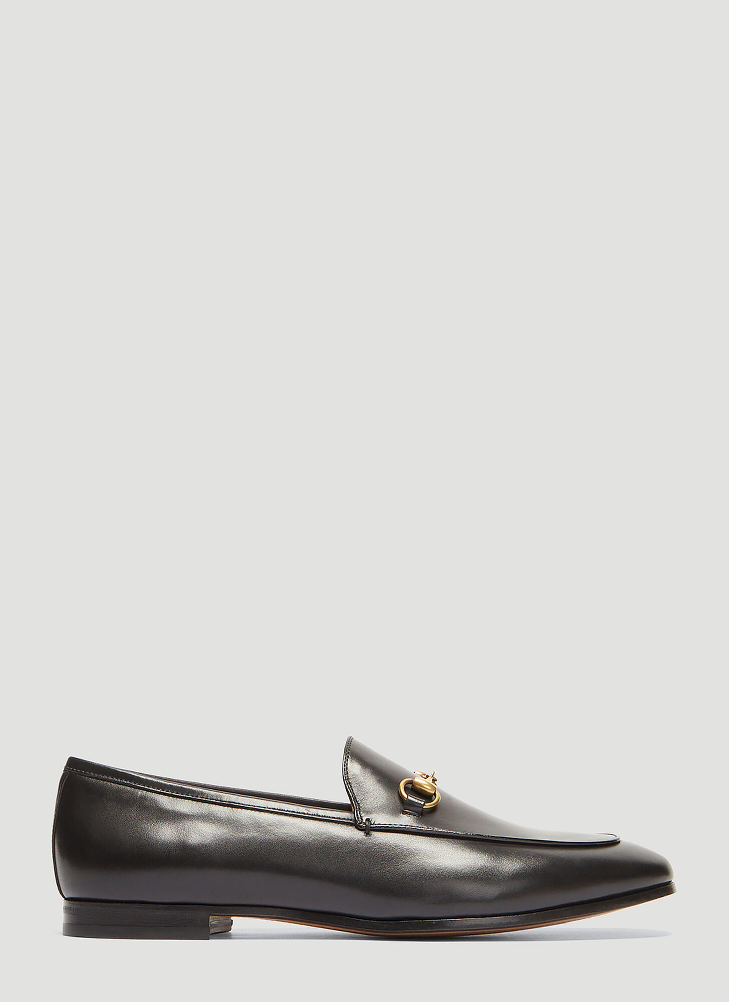 Gucci Jordaan Leather Loafer in Black