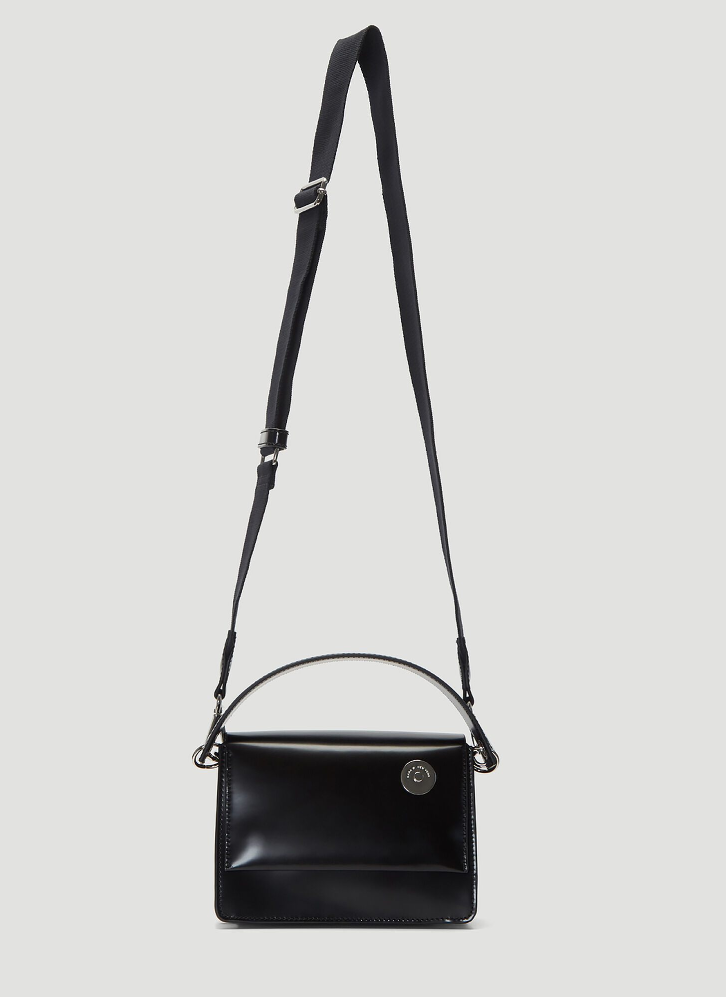 Kara Baby Pinch Shoulder Bag in Black