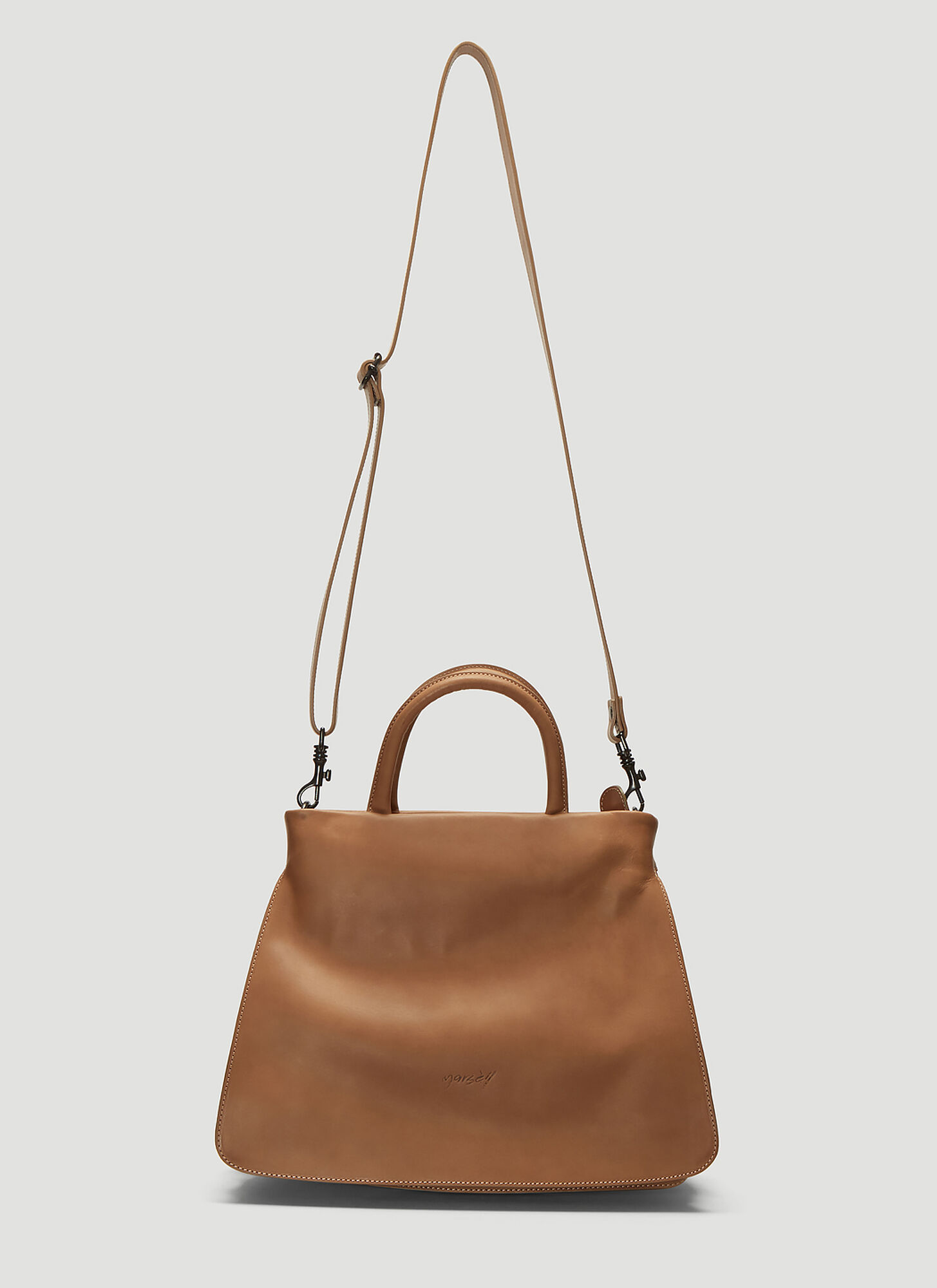 Marsell Mezzosoffio Handbag in Brown