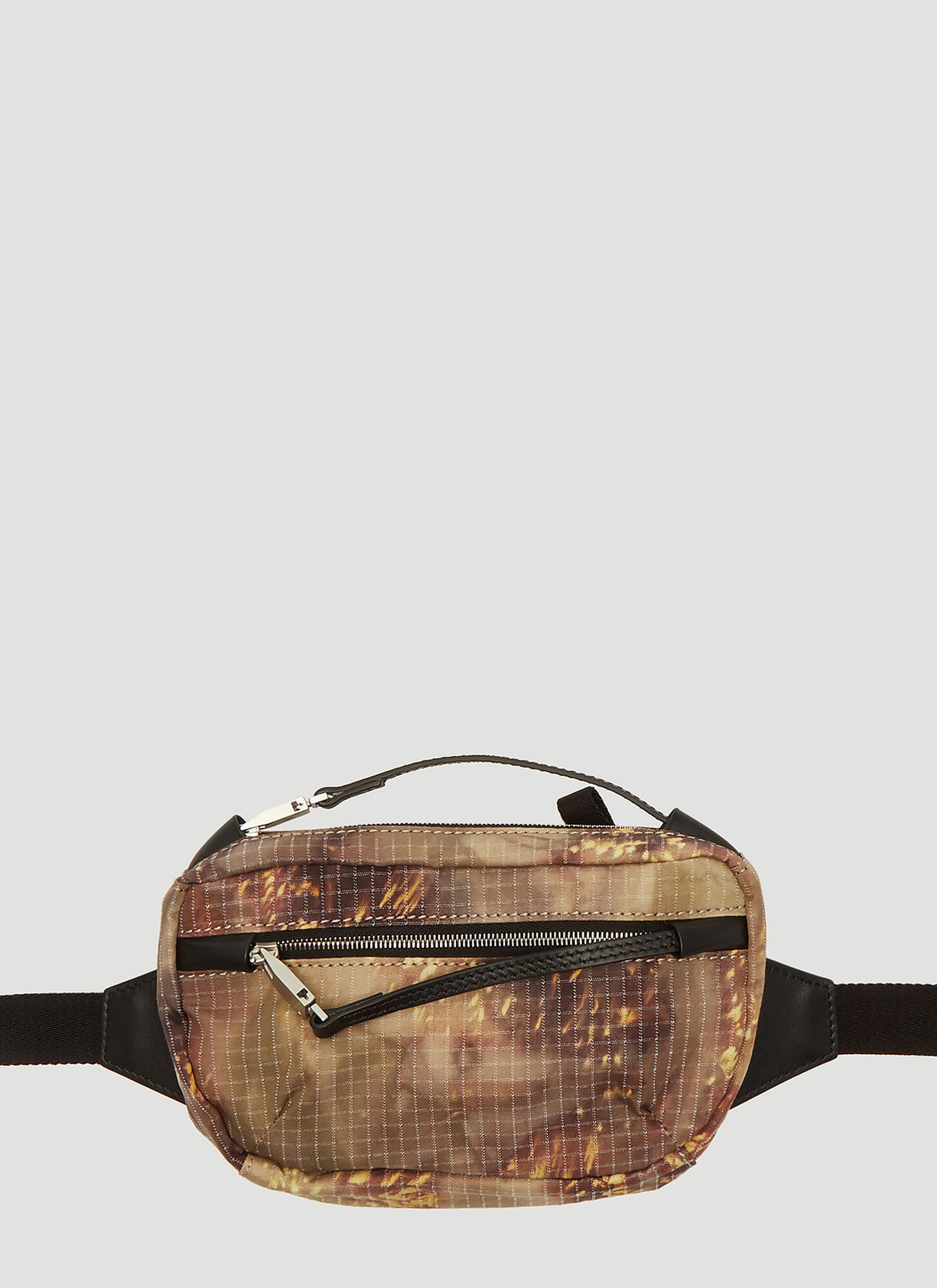 Photo of 1017 ALYX 9SM Camouflage Print Belt Bag in Brown - 1017 ALYX 9SM Belt Bags