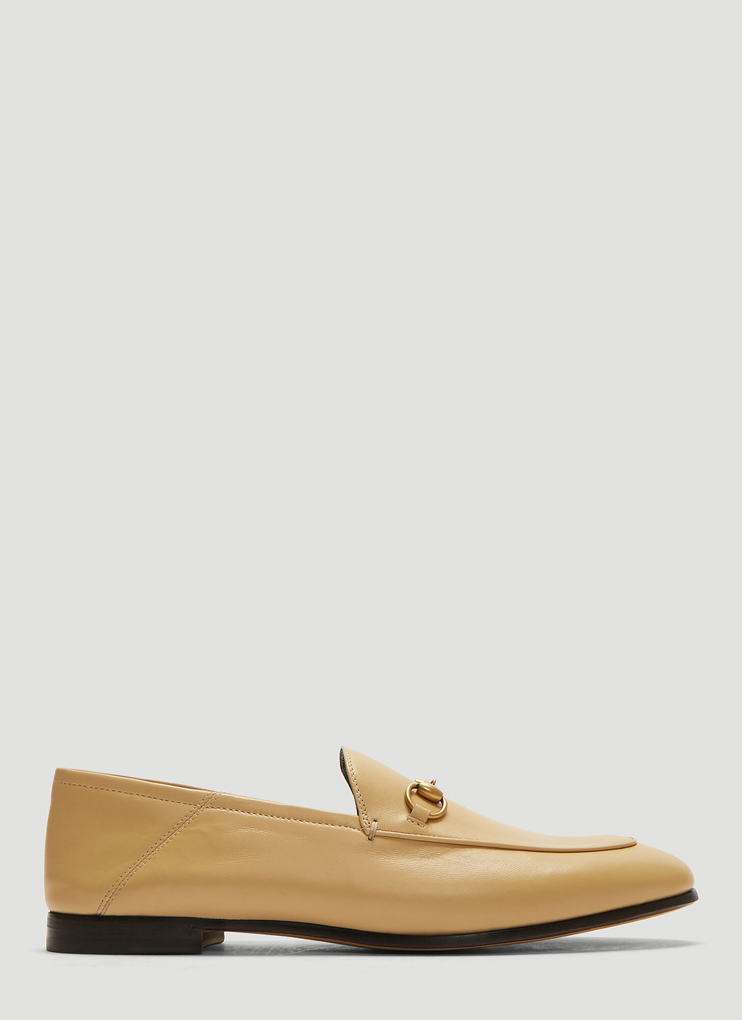 Gucci Horsebit Loafers in Beige