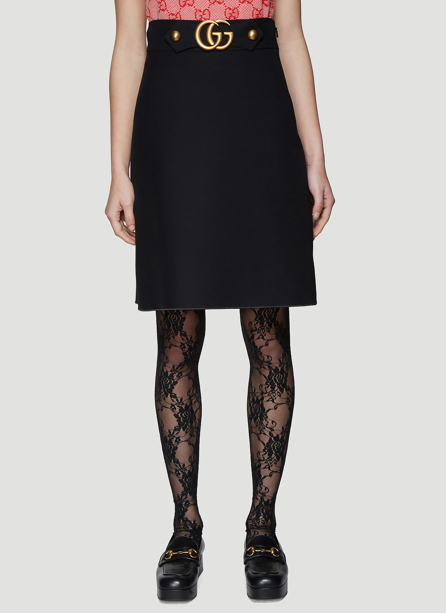 Gucci GG Skirt in Black