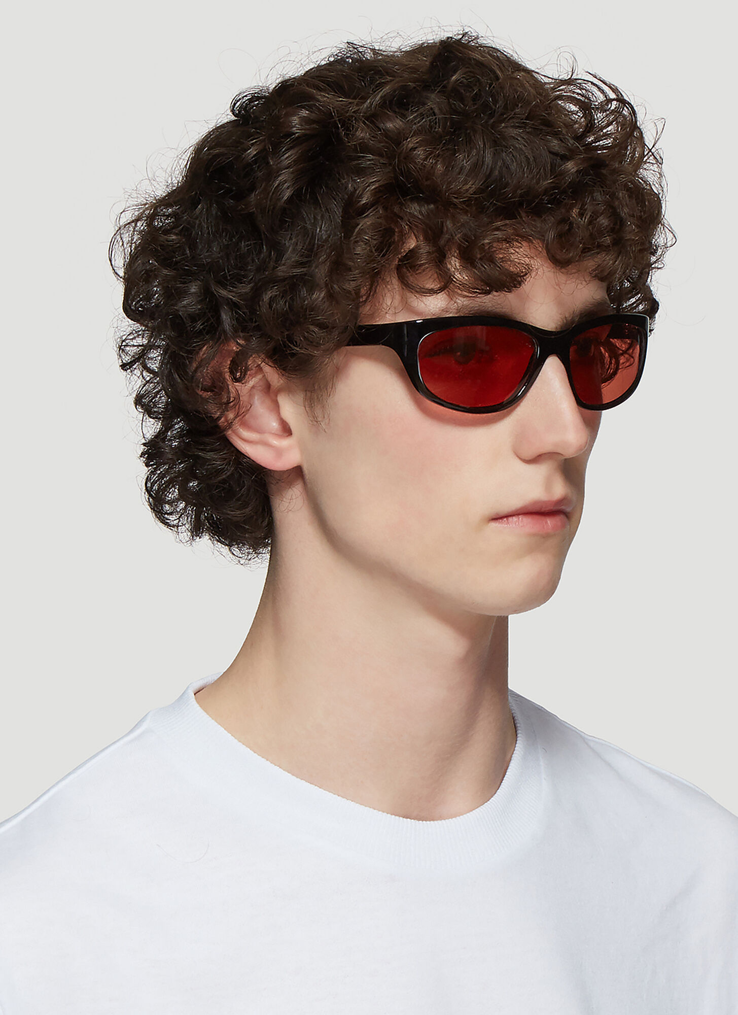 Acne Studios Lou Sunglasses in Black size One Size