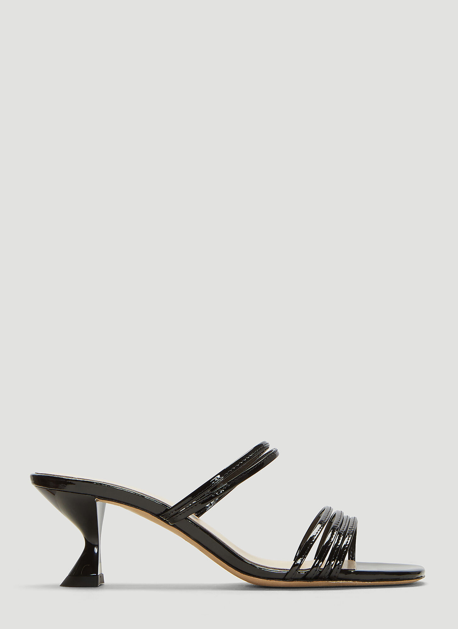 Kalda Simon Sandals in Black