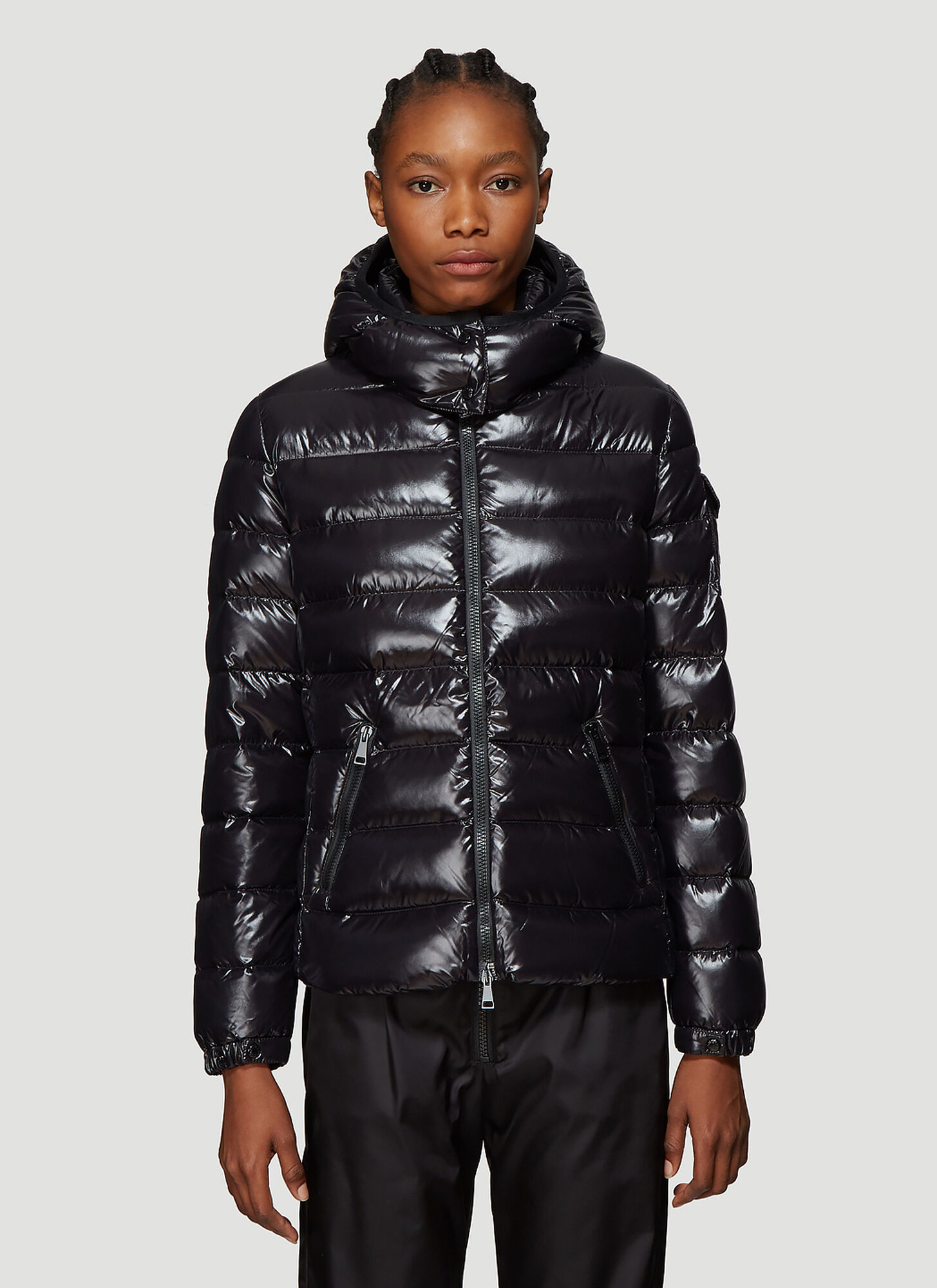 Moncler Bady Quilted Down Jacket in Black