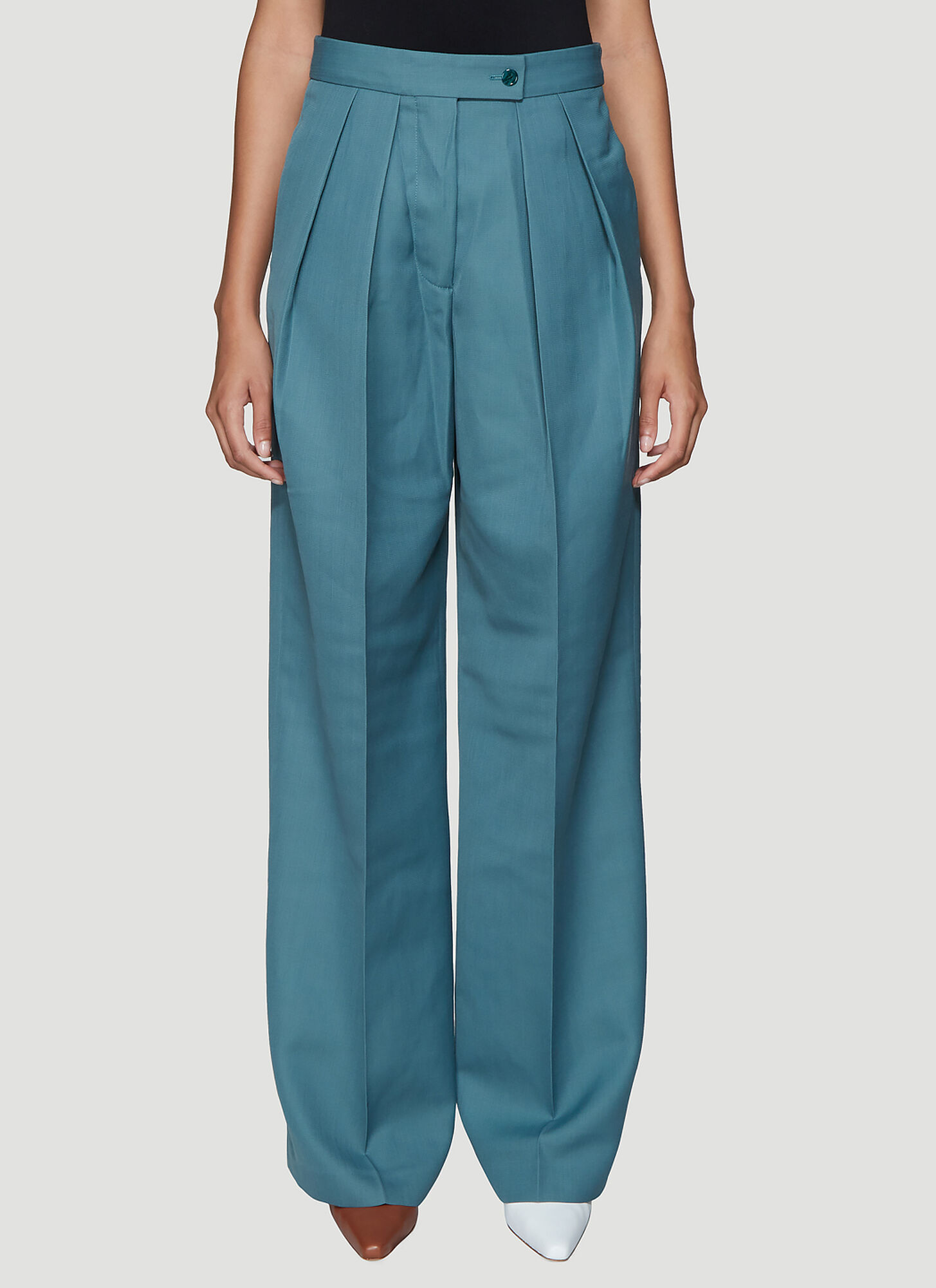 Acne Studios Pristine Suit Pants in Blue