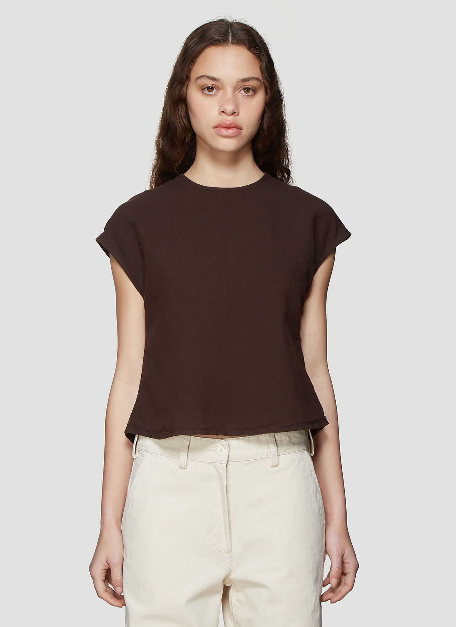 Our Legacy Cafe Serre Top in Brown