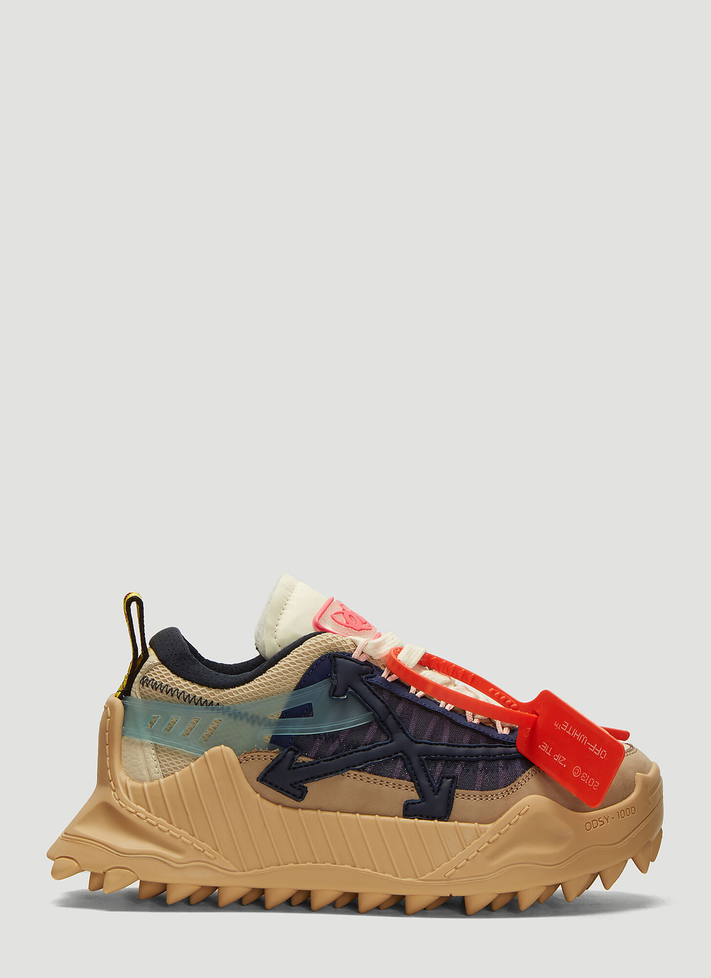 Off-White Odsy-1000 Sneakers in Beige