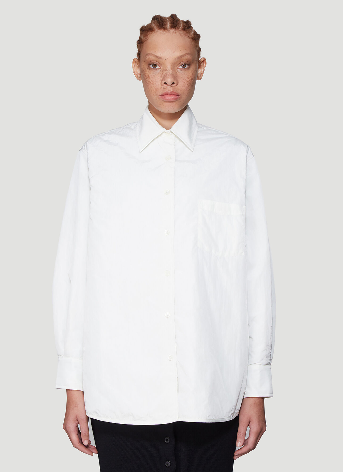 Our Legacy Technical Shirt Jacket in White