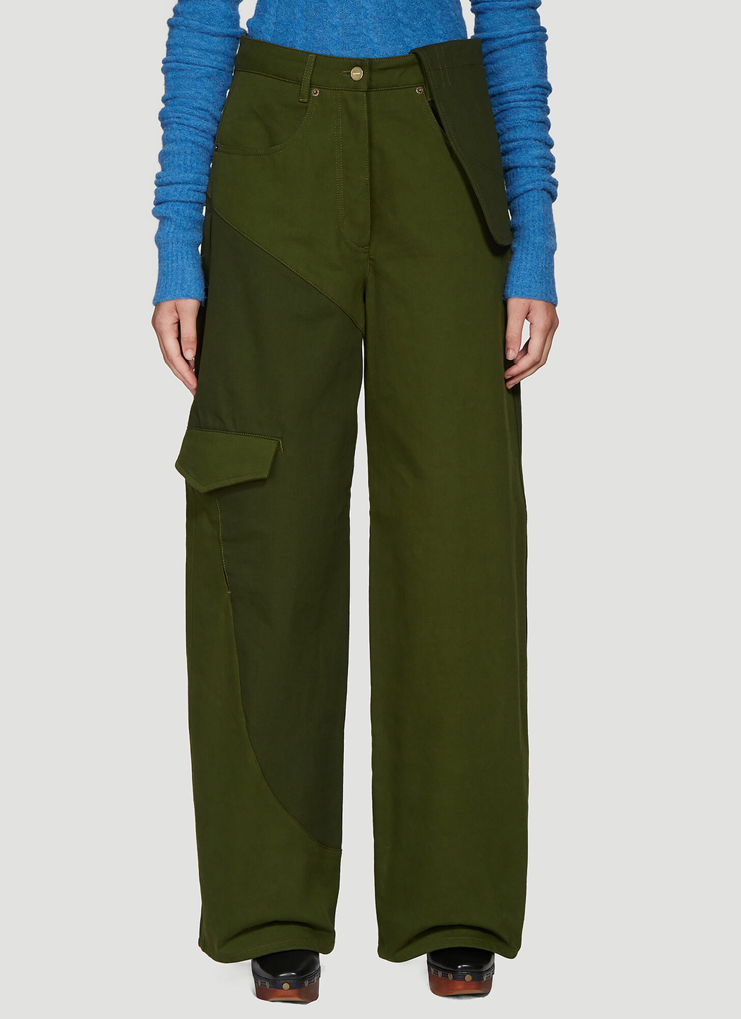Jacquemus Le Jean De Nimes Pants in Green