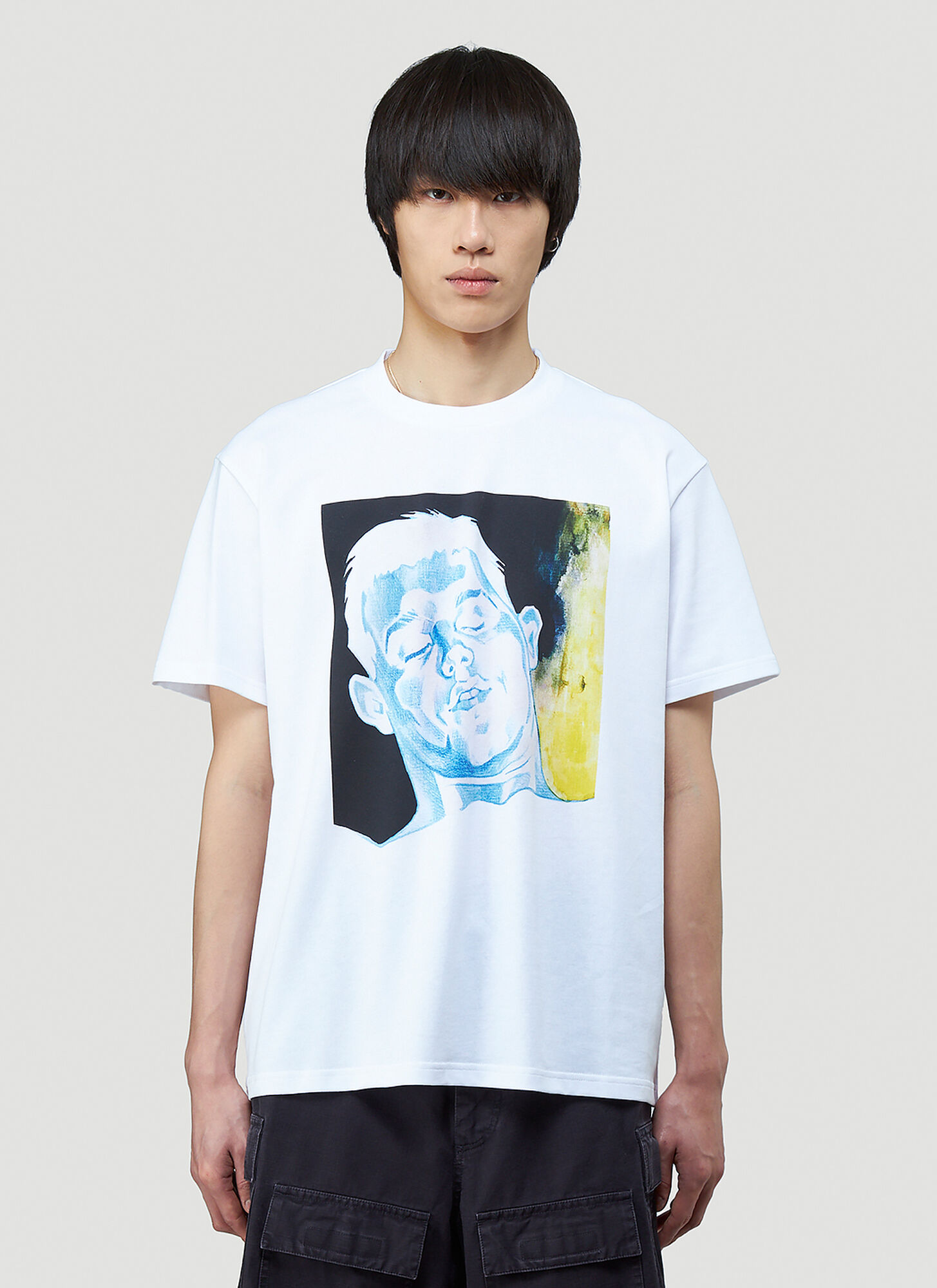 JW Anderson Oversized Printed T-Shirt