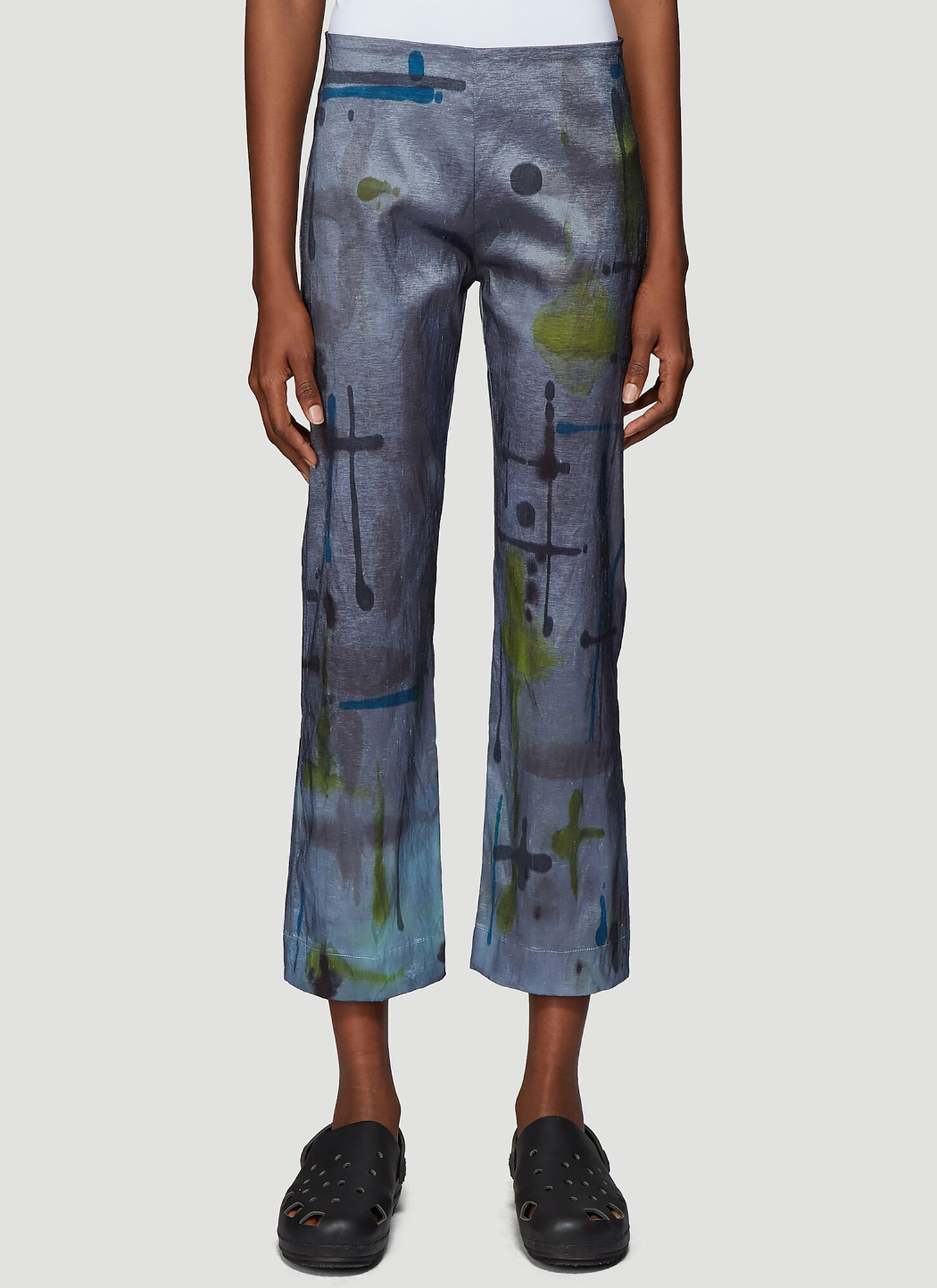 Collina Strada Mariposa Pants in Blue