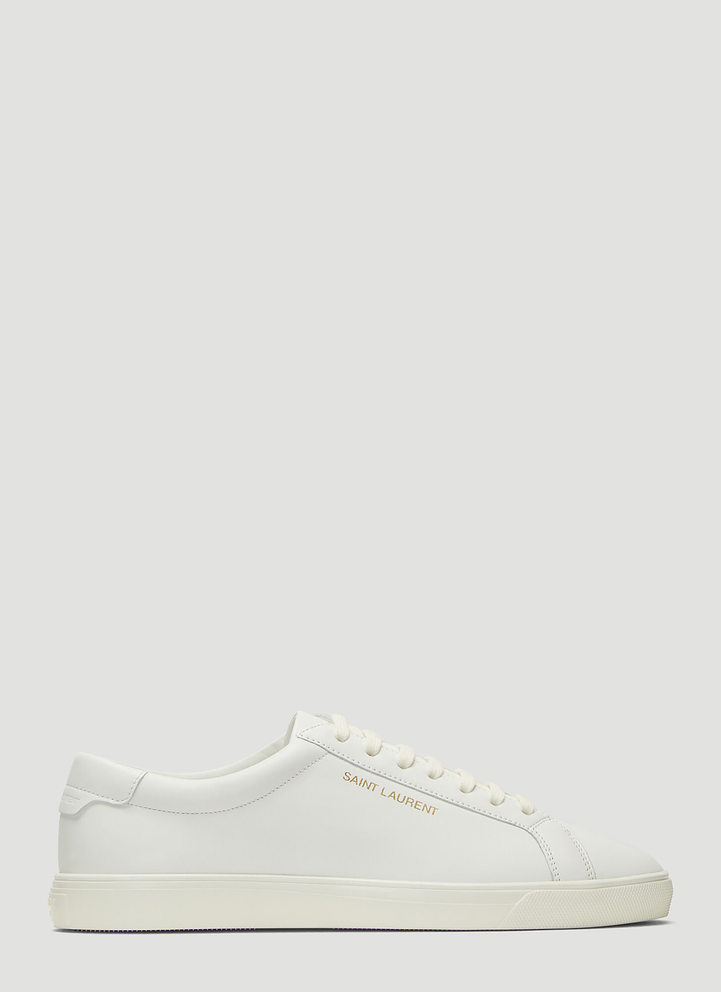 Saint Laurent Moon Plus Sneakers in White