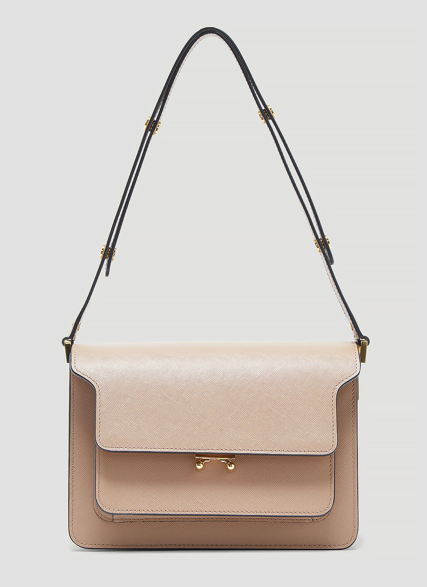Marni Medium Trunk Bag in Brown